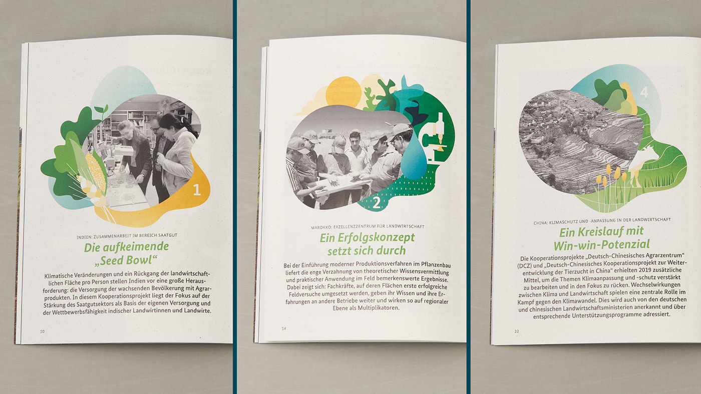 Visual communication and storytelling for the Federal Ministry of Food and Agriculture