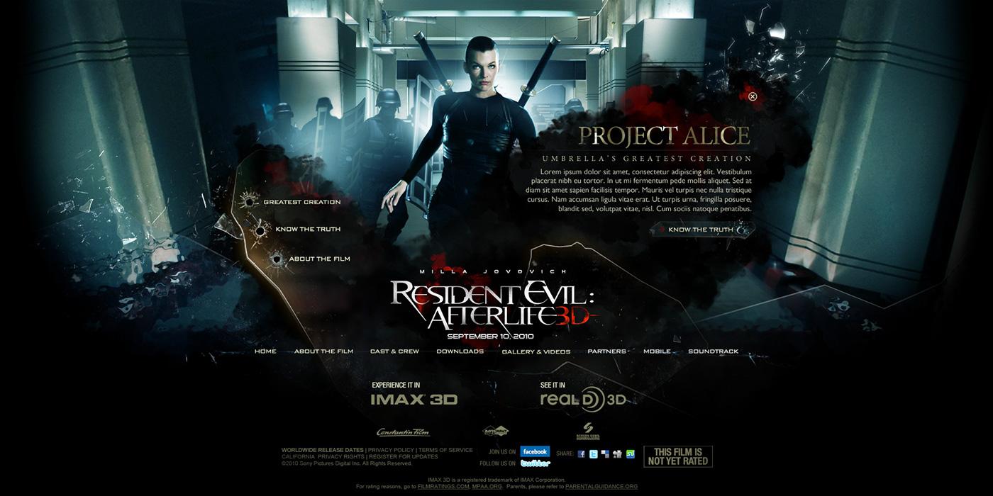 resident evil trigger Trigger Global Jeff Mendoza epk Website Sony pictures movie site