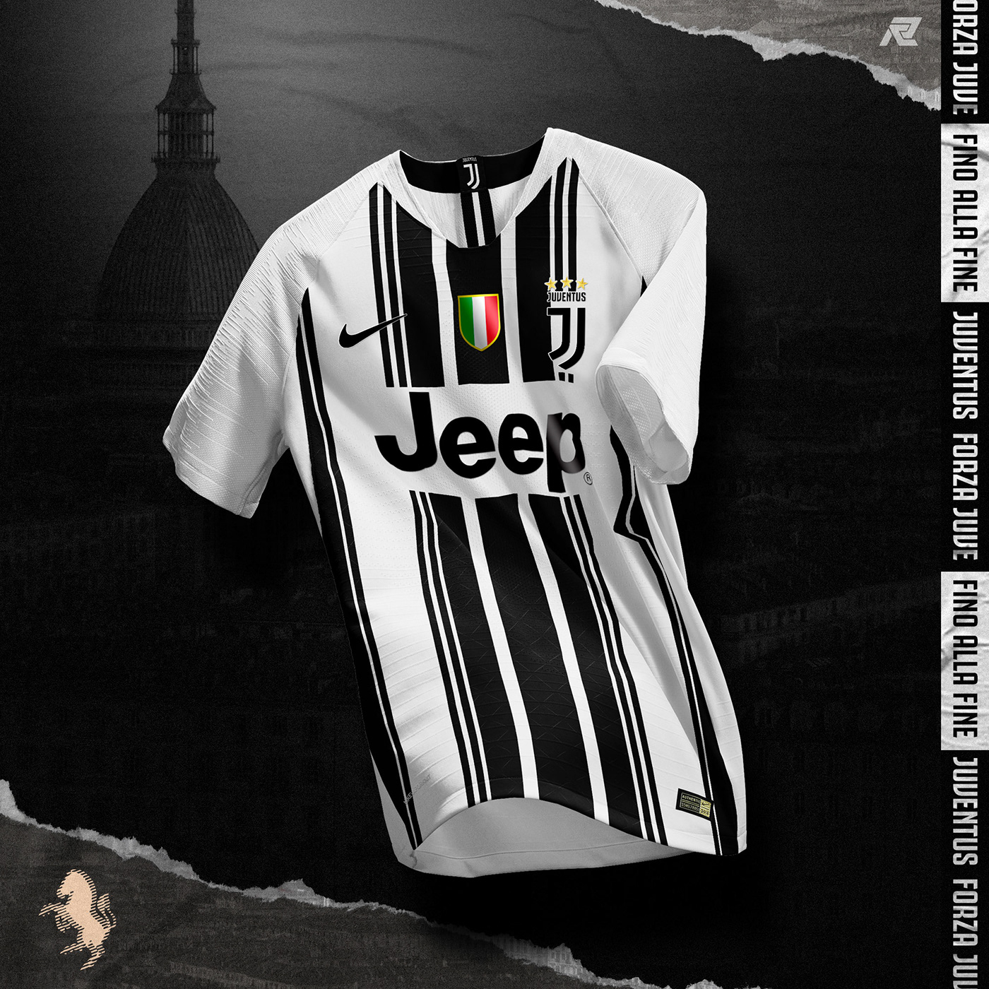newest 1e4a9 df9b5 NIKE x JUVENTUS Concept on Behance