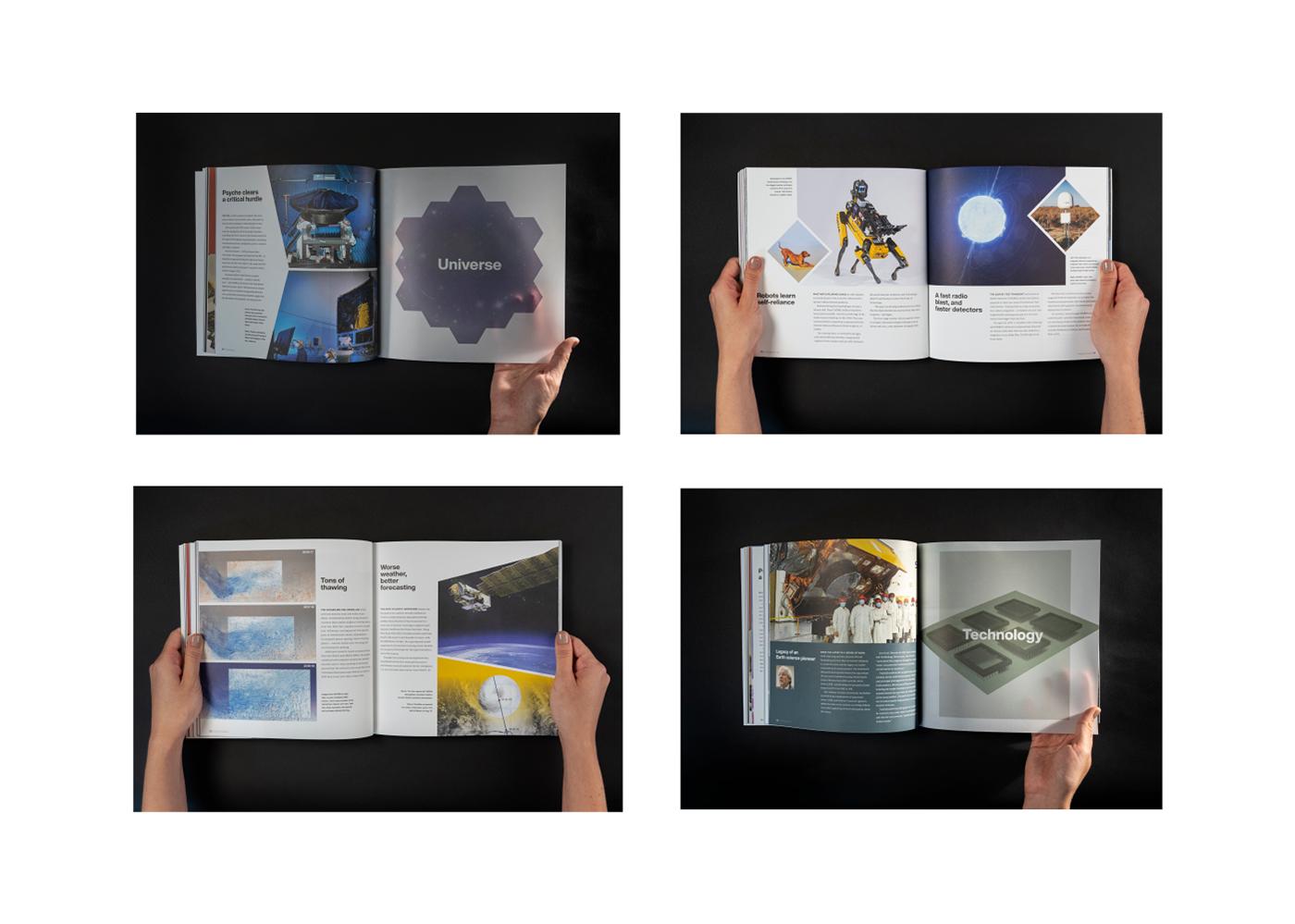 annual report Designlab JPL JPL-Designlab letterpress nasa