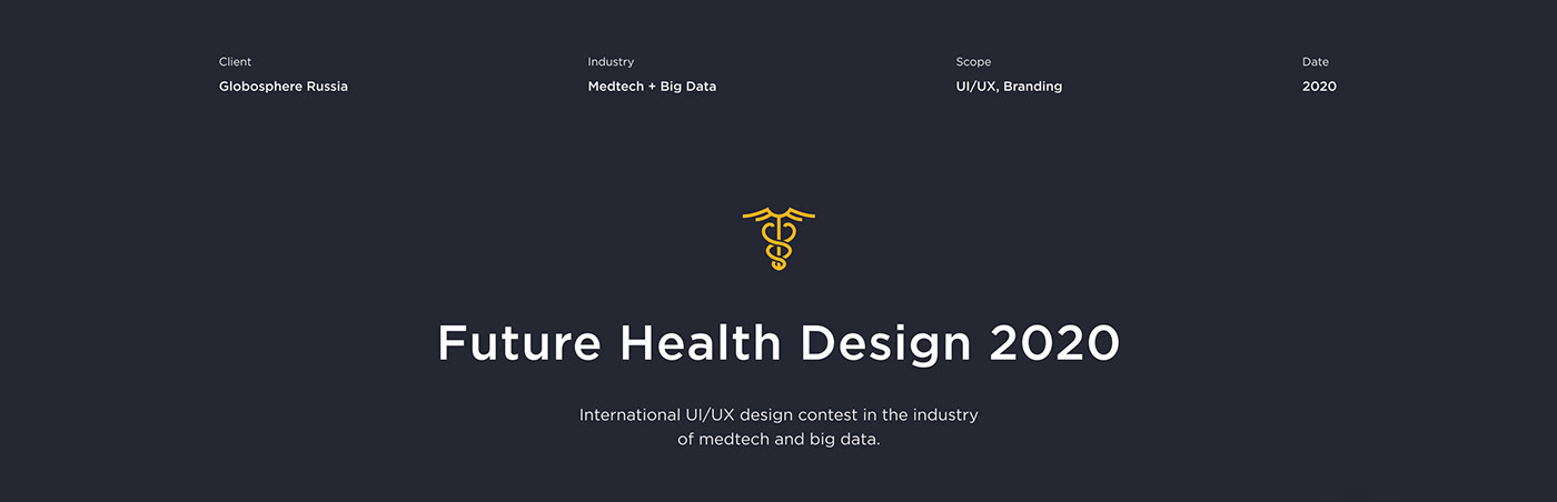 dashboard design medical UI ux ux/ui Webdesign Website