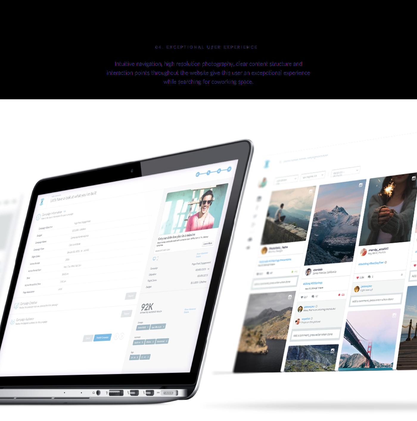 feed design clean Web app user web app web application application marketing   campaign logo navigation Interface interfaces
