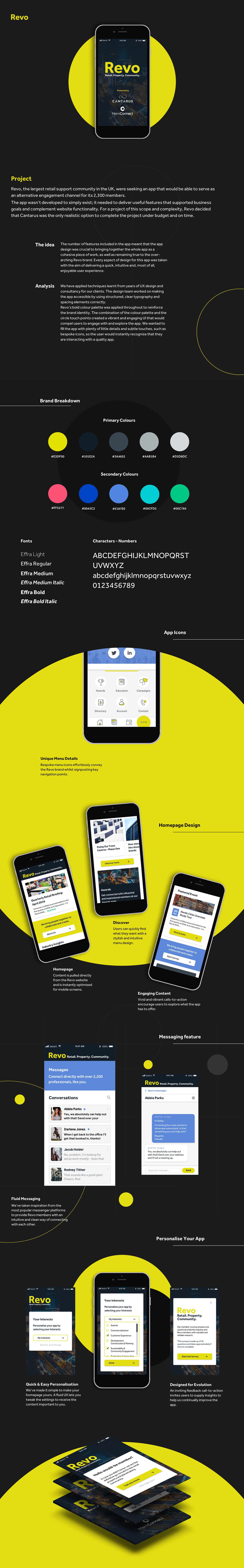 app design community engagement Streamline ux UI