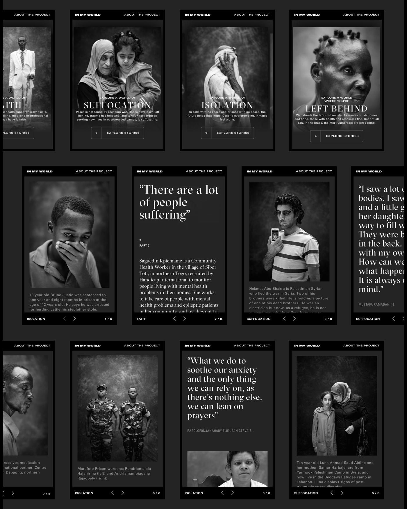 donate mental health black & white Photography  Webdesign animation  Perspective help togo lebanon