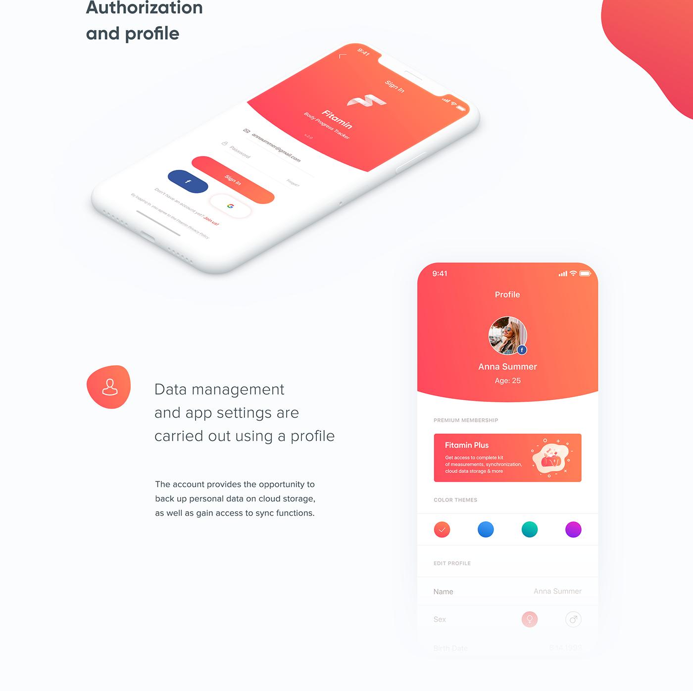 Fitamin — iOS App on Behance