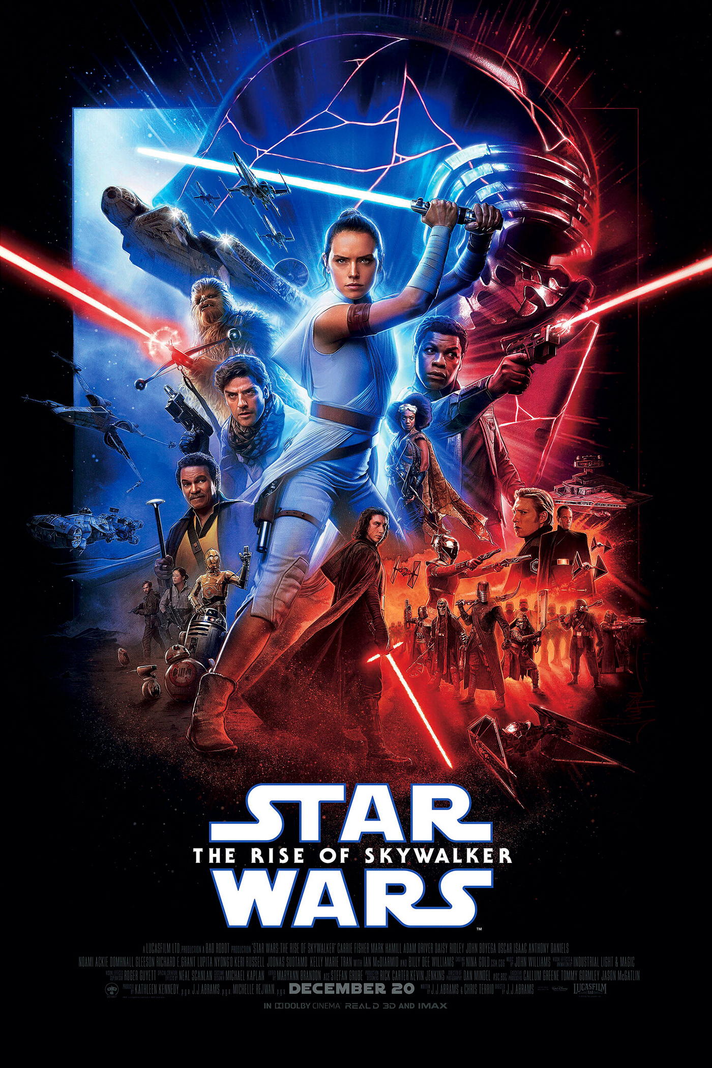 Star Wars The Rise Of Skywalker International Poster On Behance