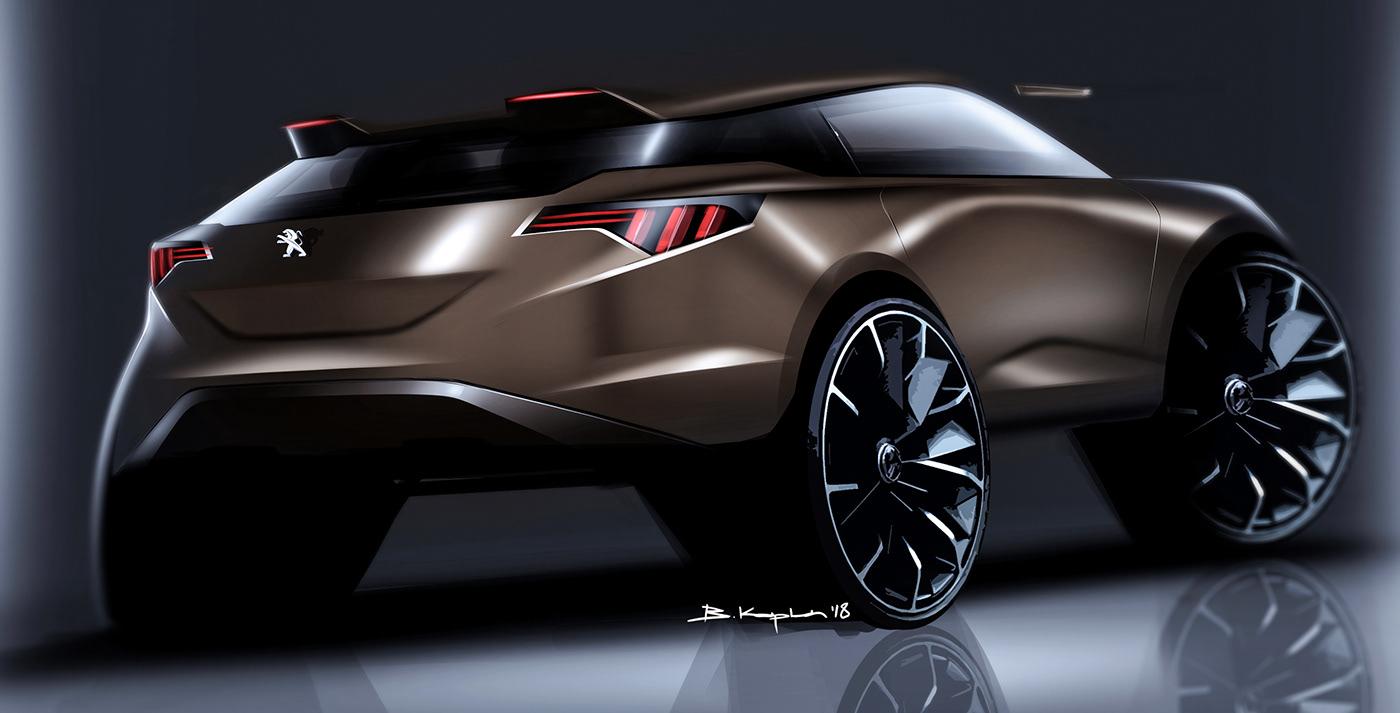 豐富的20款概念車草圖設計欣賞