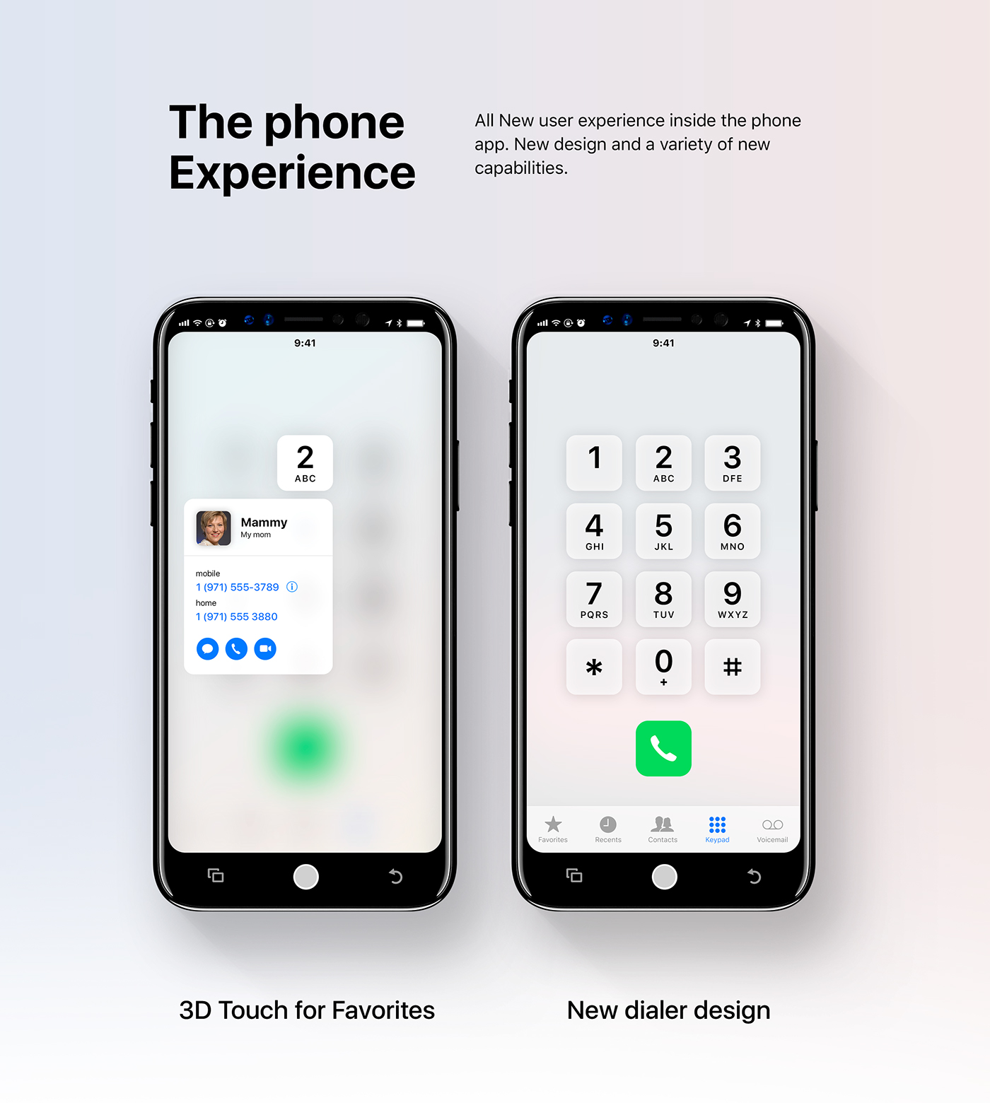 new ios 12 concept displayed on iphone 8 on behance. Black Bedroom Furniture Sets. Home Design Ideas