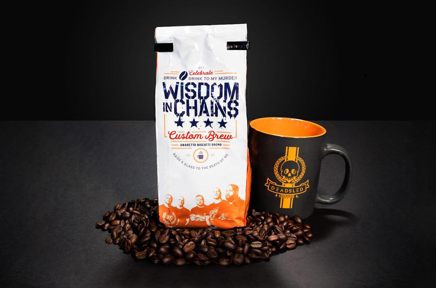package design  Badge design punk Coffee coffee bag coffee packaging Midcentury Modern