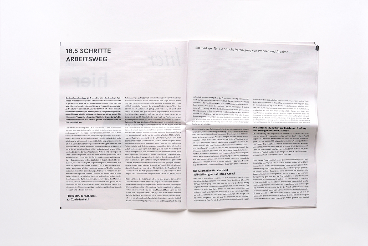 hier und hier – Newspaper on Behance