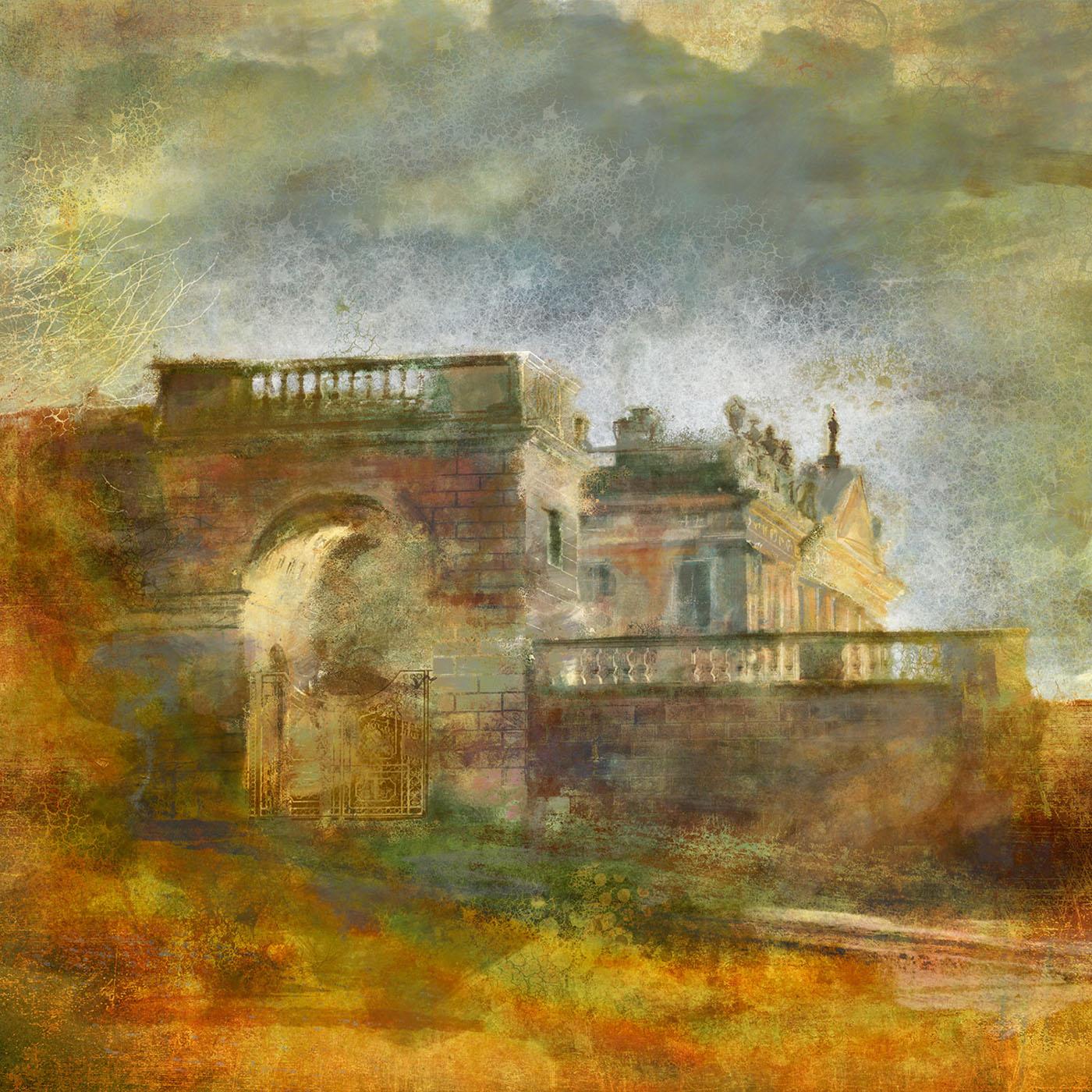 Derbyshire digital painting   photoshop wacom architecture Landscape