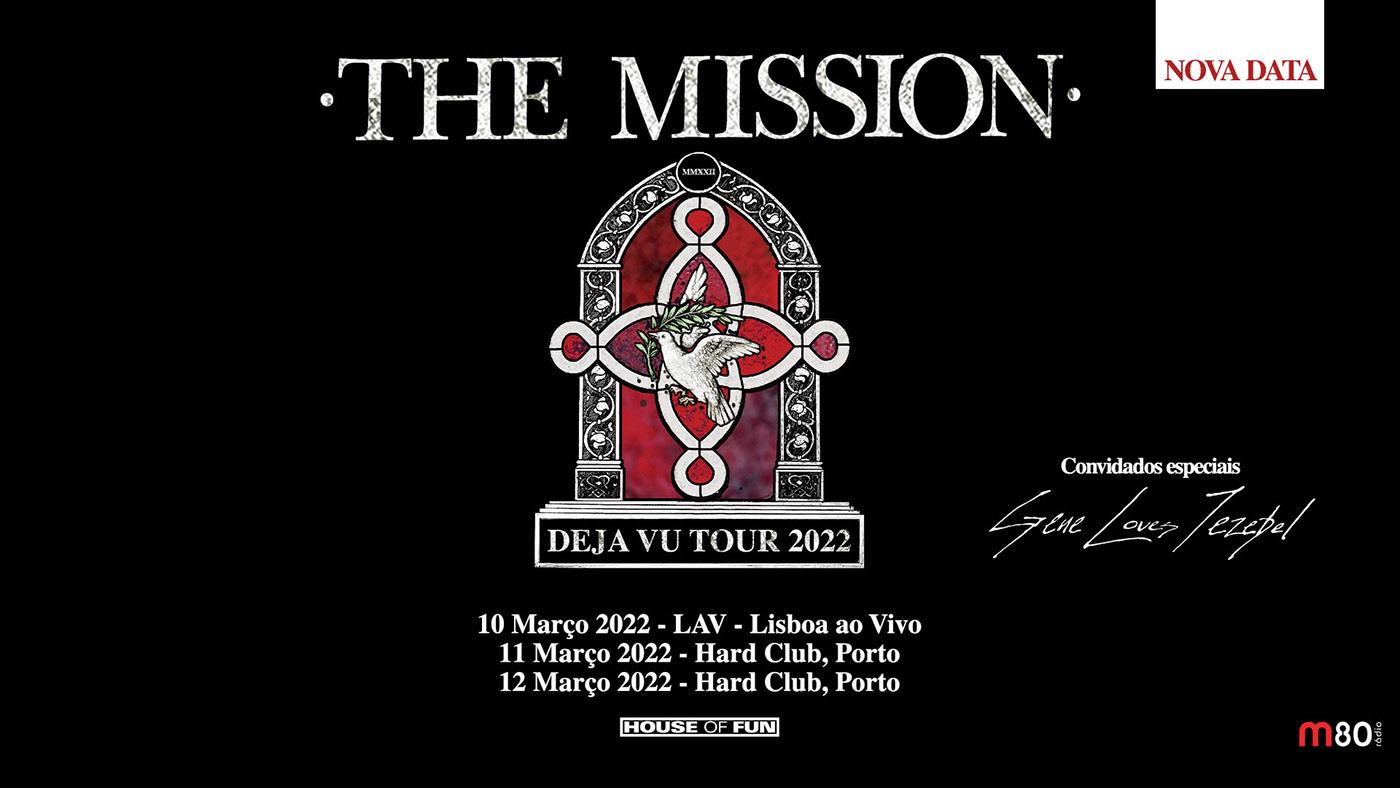 THE MISSION – novas datas para Portugal em 2022