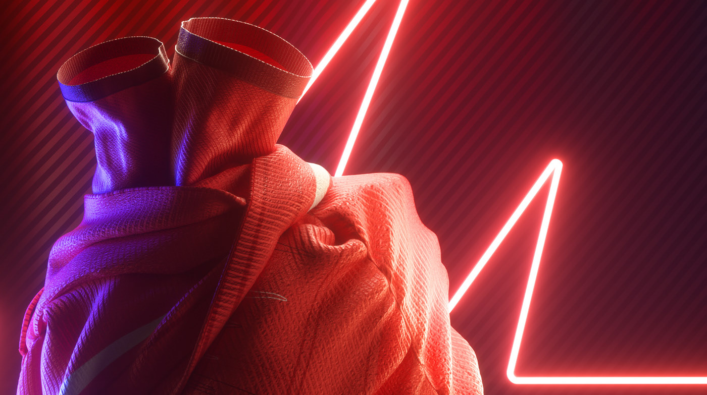 FabricHeart Campaign, living the heartbeats - Animation & Cinema 4D