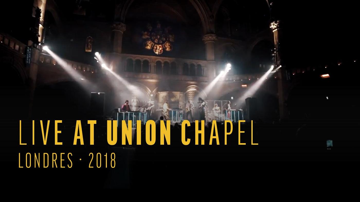 THE GIFT disponibilizam concerto em Londres na íntegra na aplicação REV