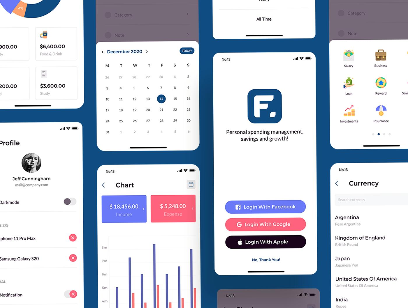 Finany - Cashflow Manager Full App - 1