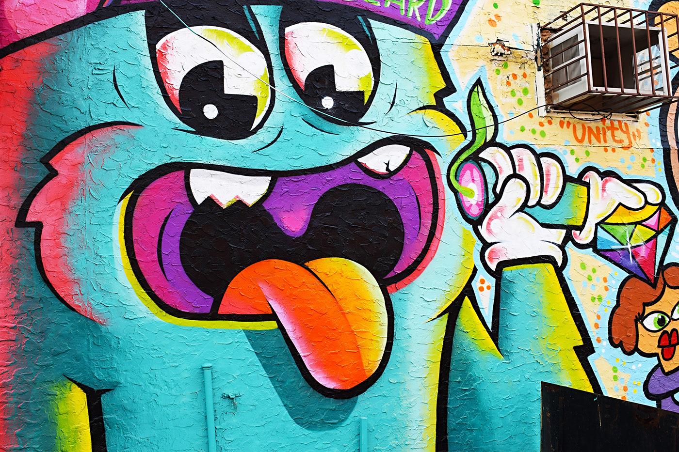 постеры с граффити