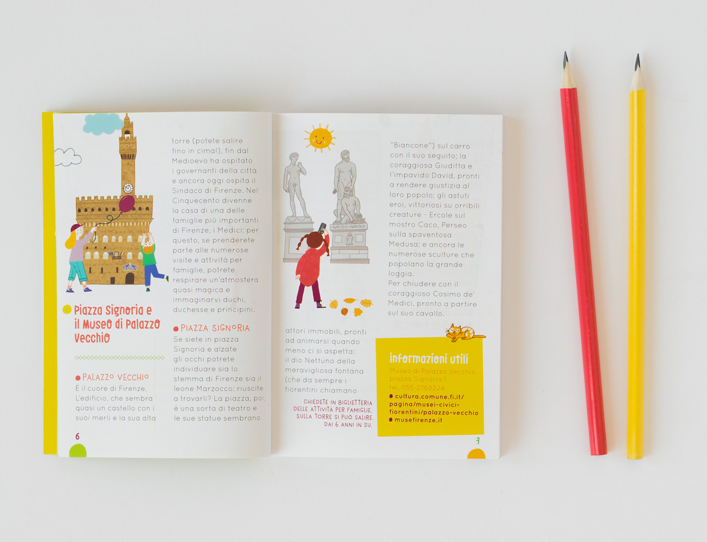Come Chiudere Una Loggia firenze for families, pocket guide and map on behance