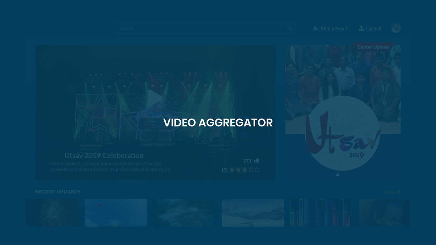 Video Aggregator - UX Study