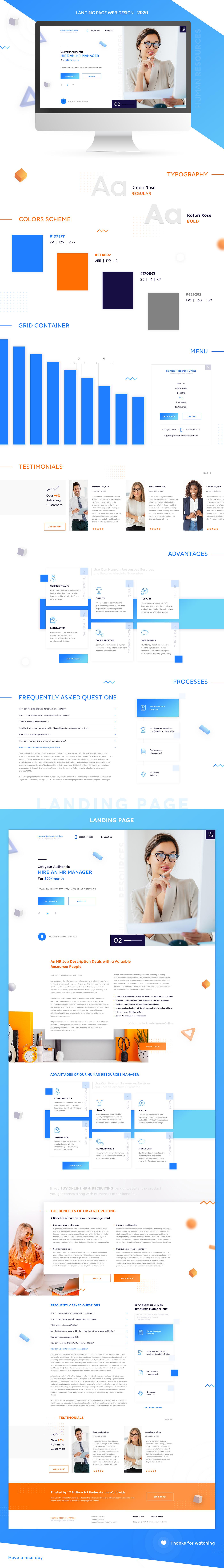 Business Landing page - Digital HR Online