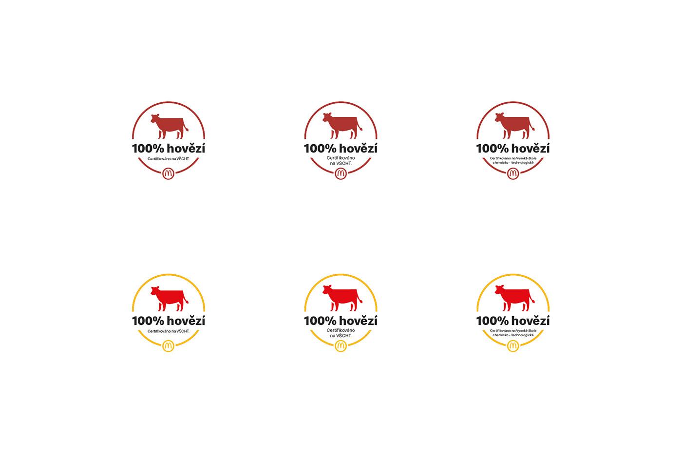 McDonald's Stamp Logo Alternatives 1
