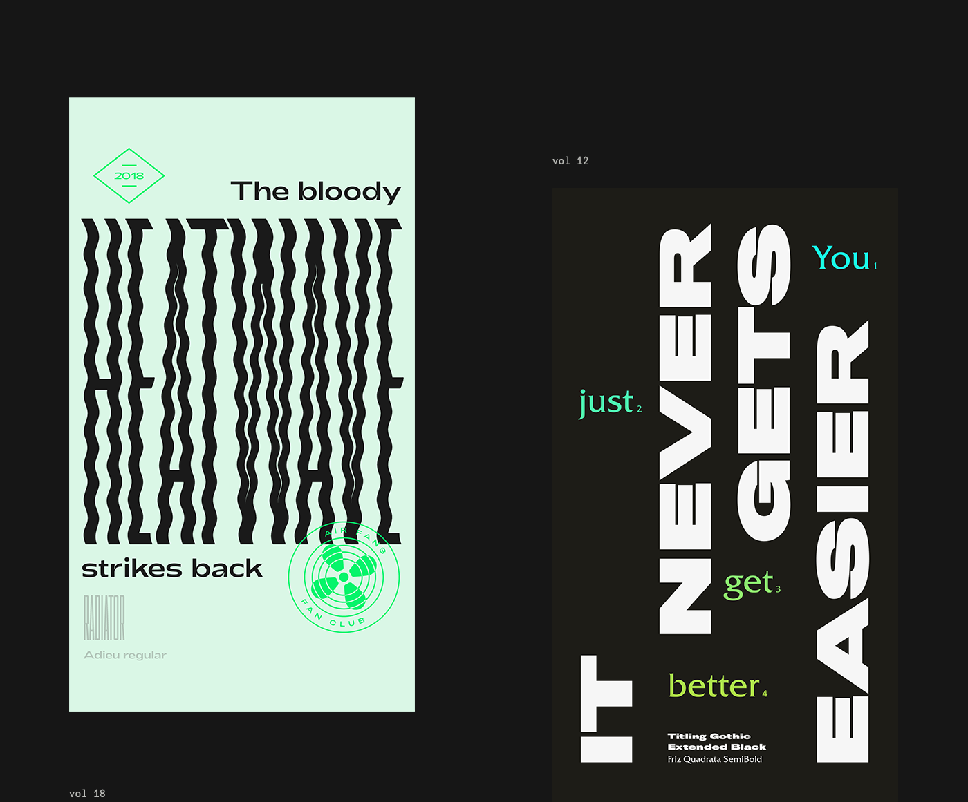 TypoStories: a graphical study on typefaces and font pairings