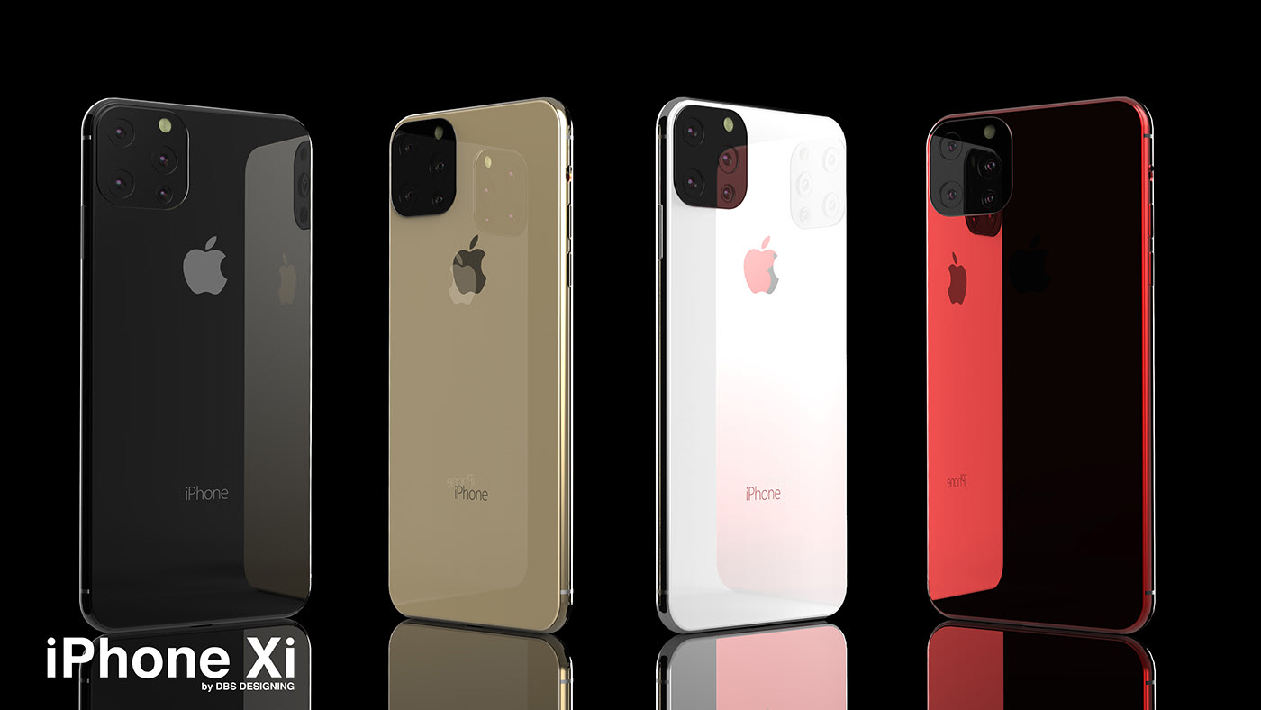 behold stunning renders show the iphone 11 we wish apple. Black Bedroom Furniture Sets. Home Design Ideas