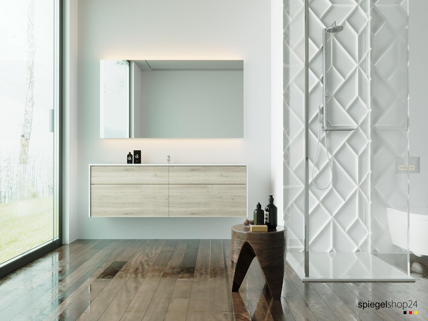 Badspiegel Wandspiegel Kristalspiegel Und Spiegel Nach Maß