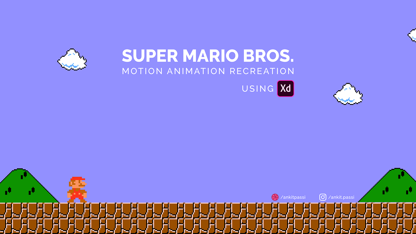 Super Mario - Adobe XD Animation