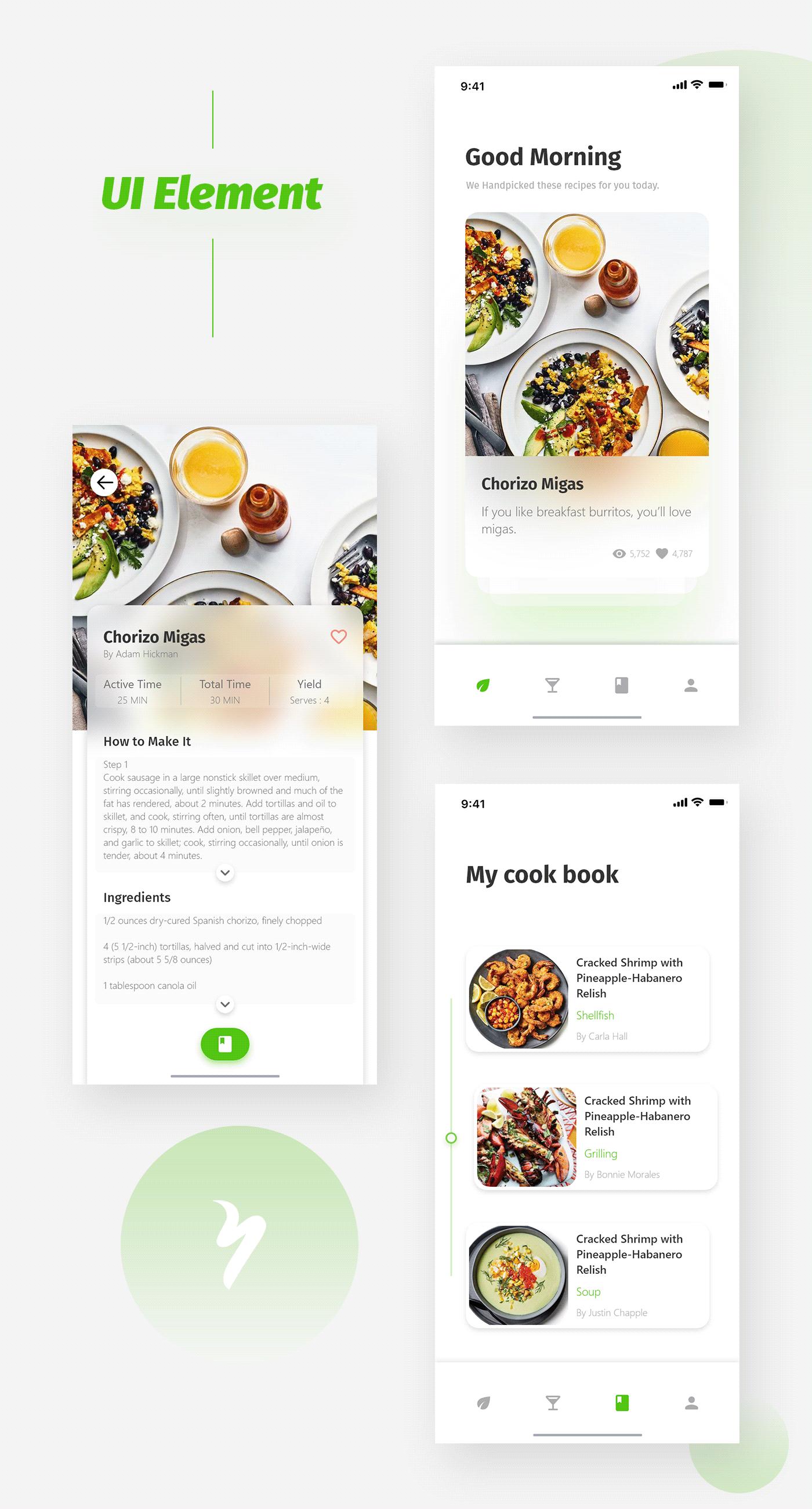Yakloft Food&Wine UI/UX