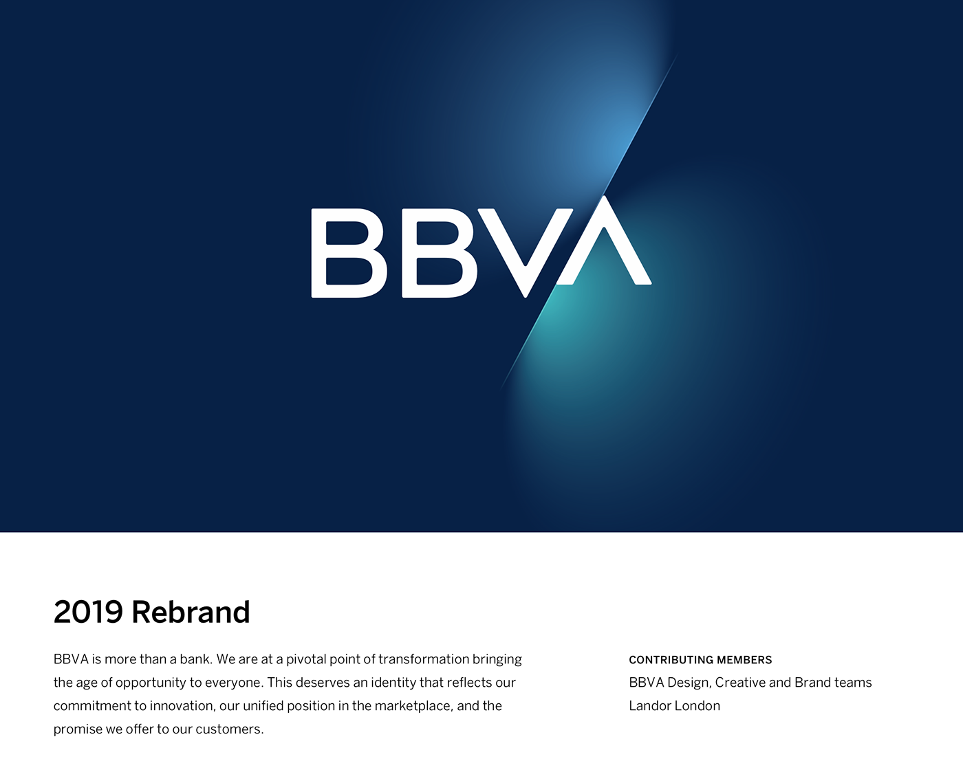 BBVA Diseño Corporativo 2019