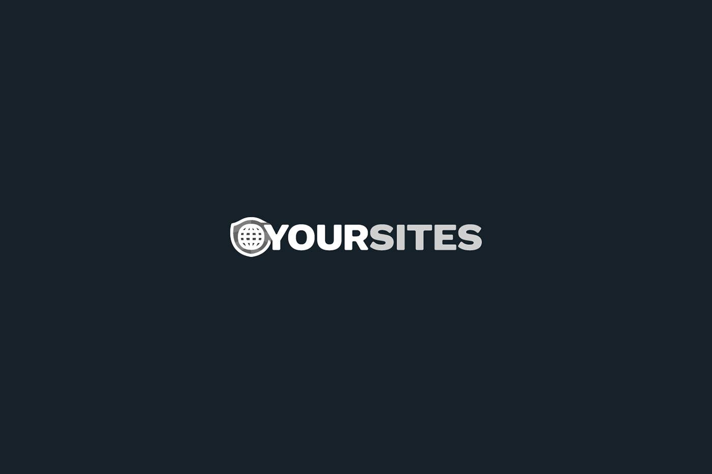 Your Sites Logo on Black