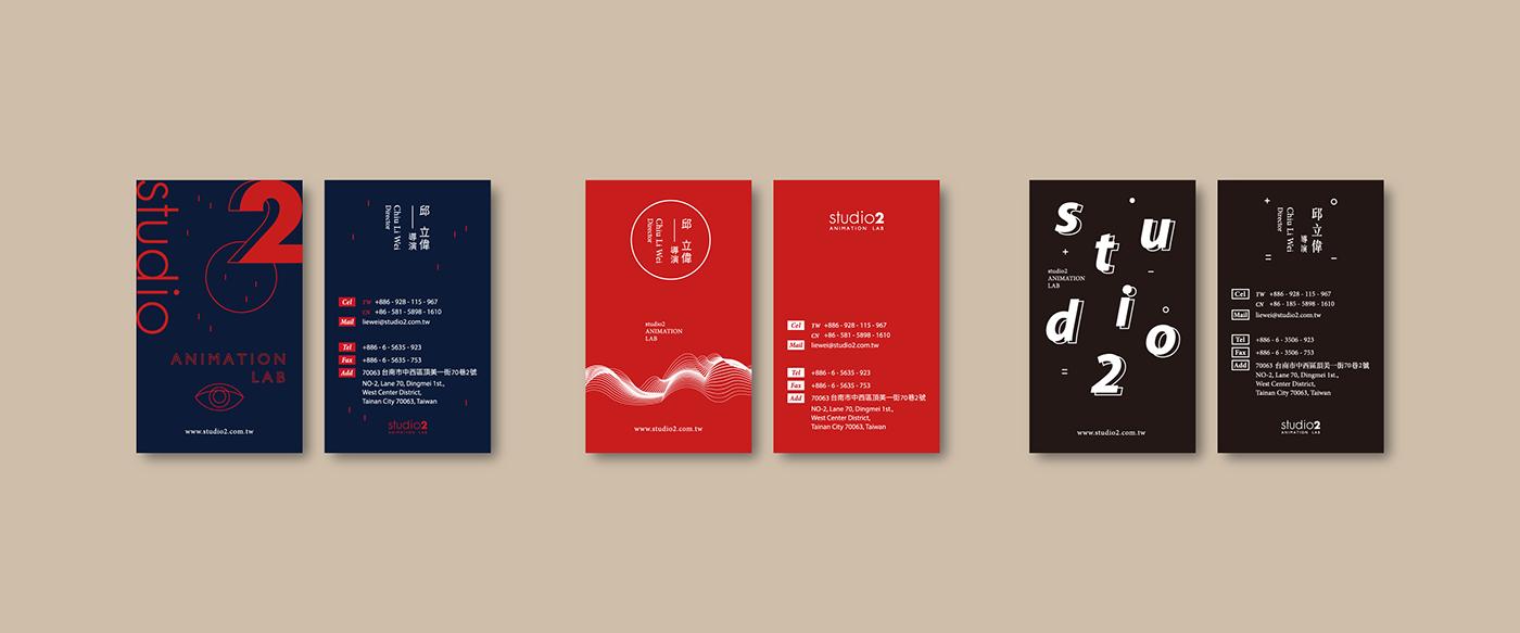 Mẫu thiết kế name card nhiều chi tiết của Wilson Wang