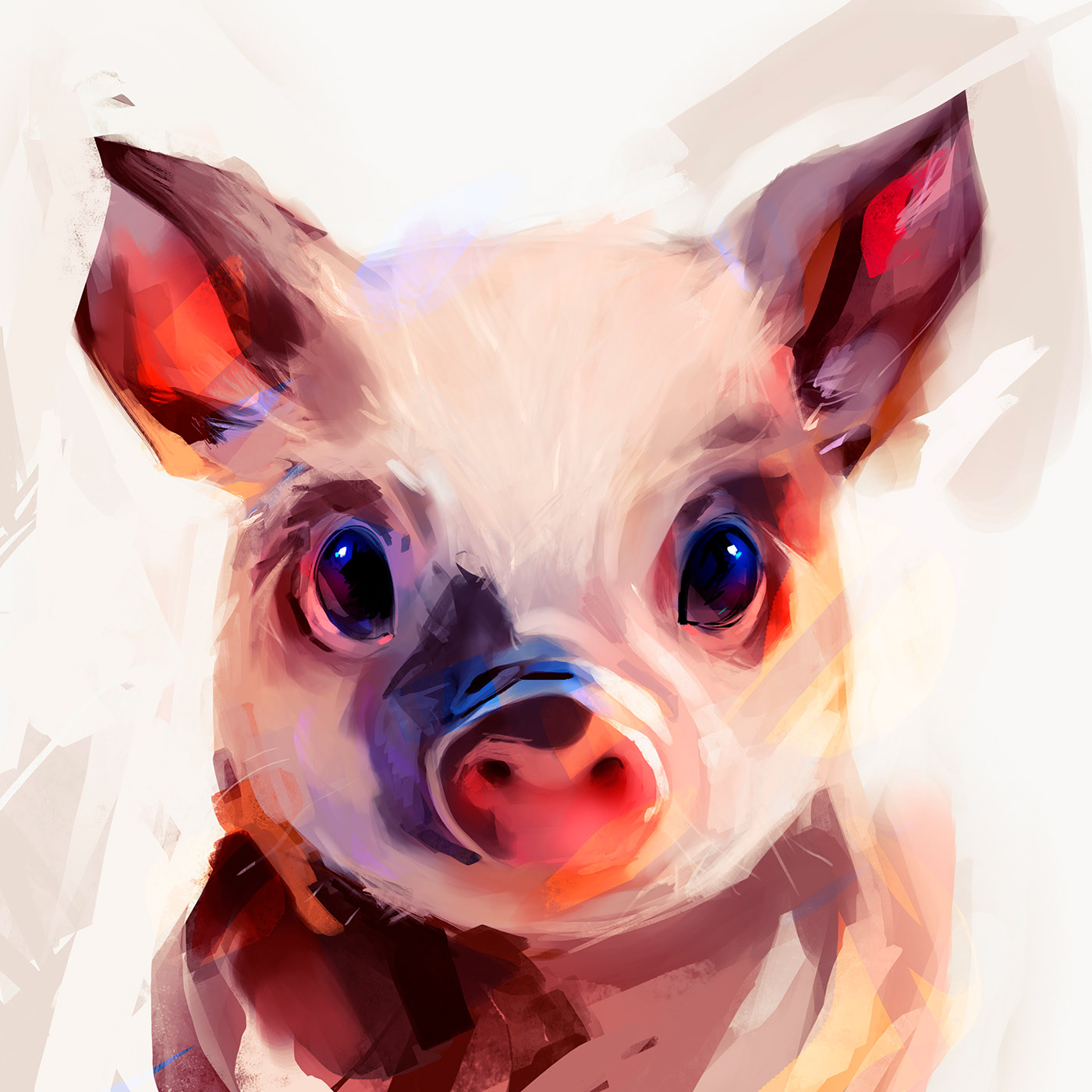 Animal Painting Studies by Guilherme Asthma