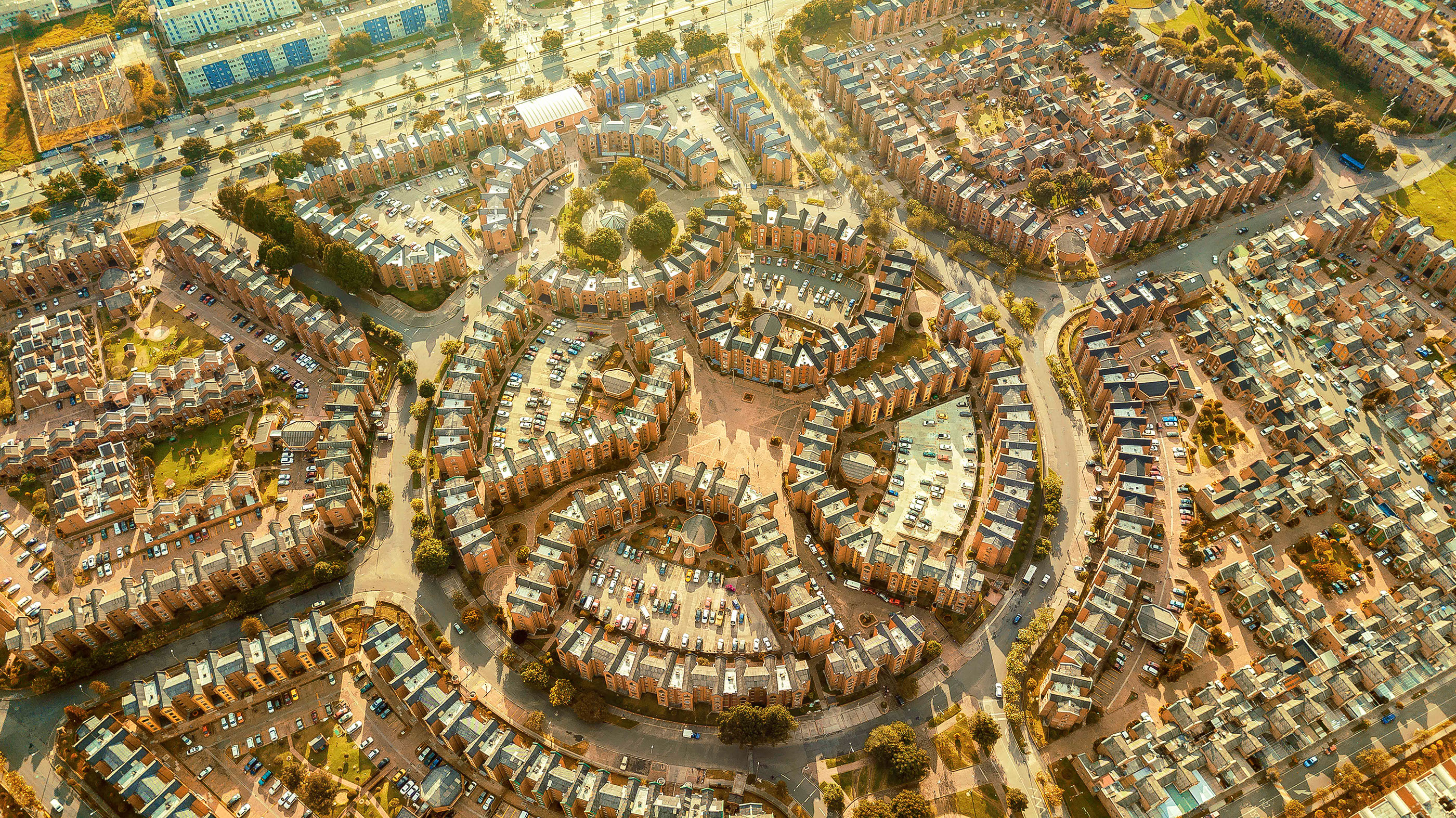 Drone Photography: Aerial Facades