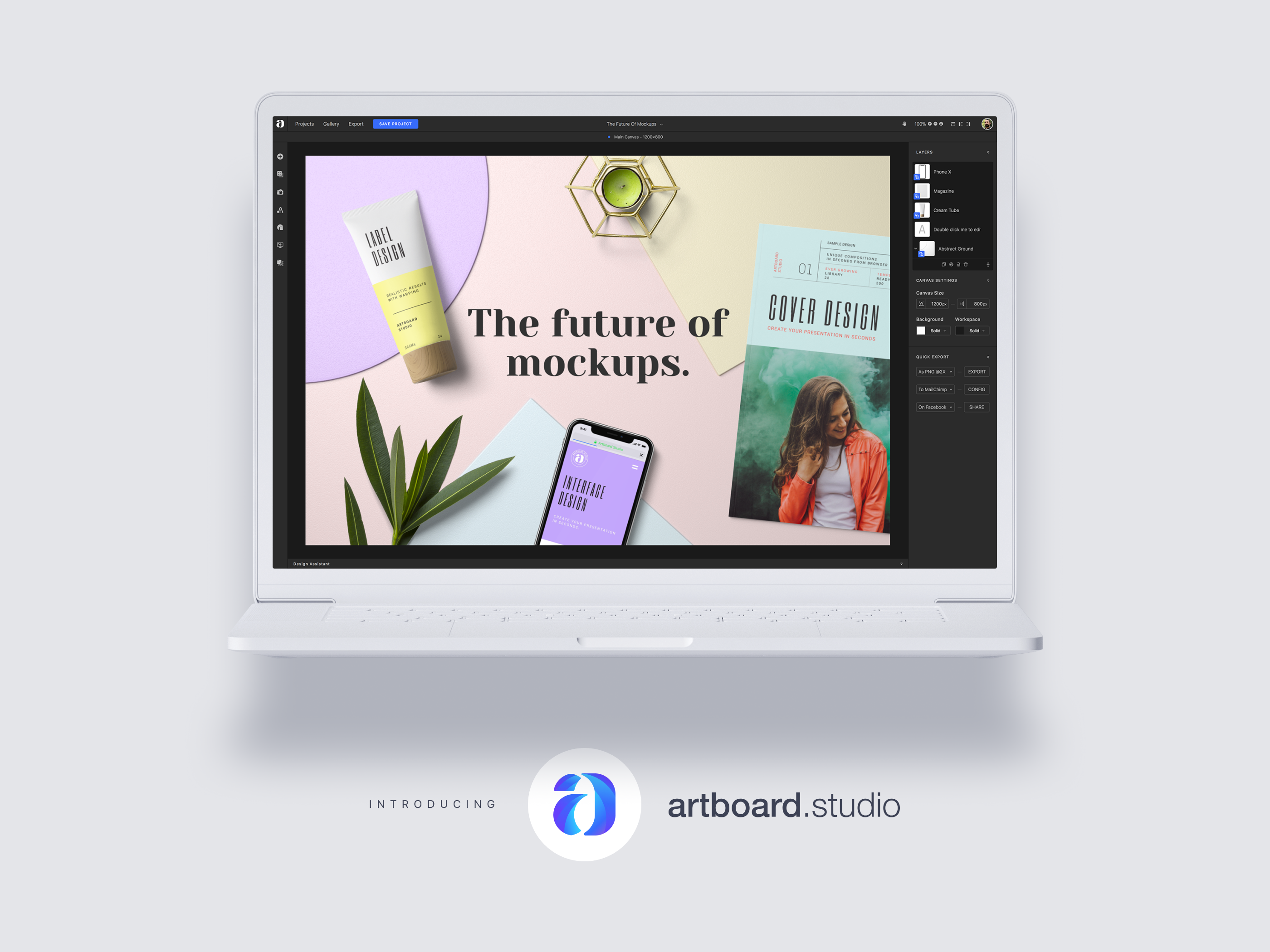 Artboard Studio: The last Mockup Creator tool you will ever need.