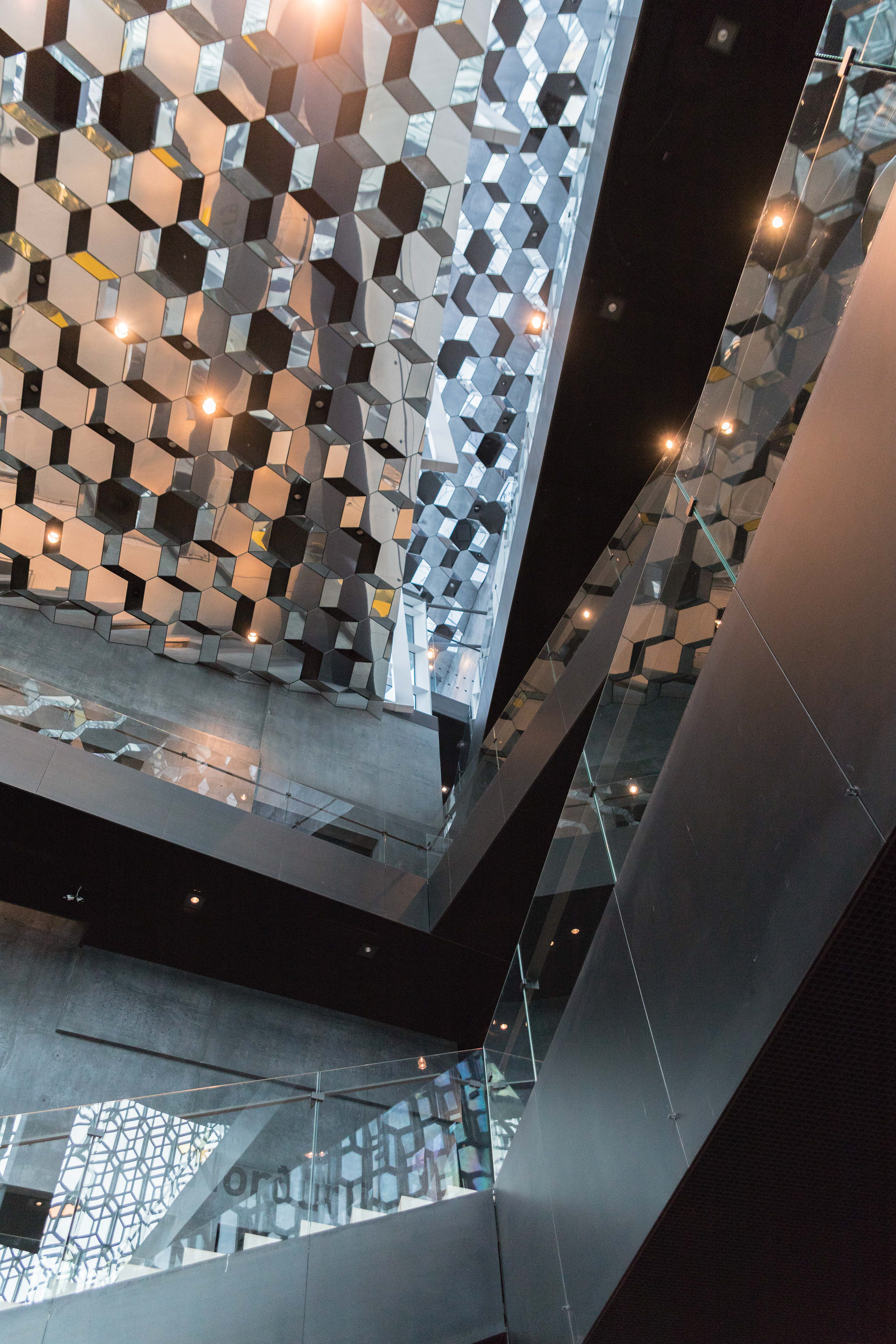Architectural Photography: Harpa Concert Hall in Reykjavík, Iceland