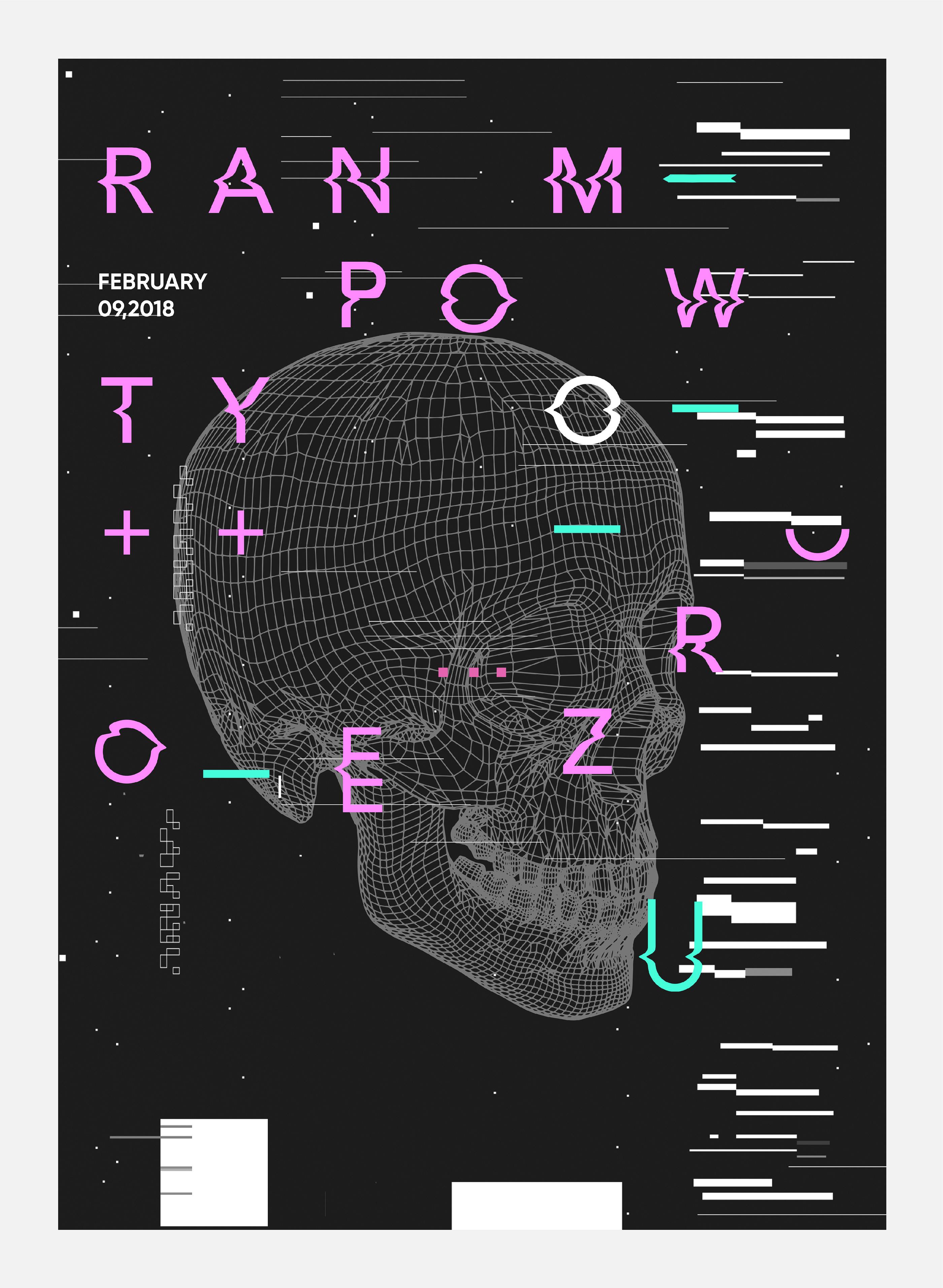 Experimental Poster Designs: Zero Posters Vol.1