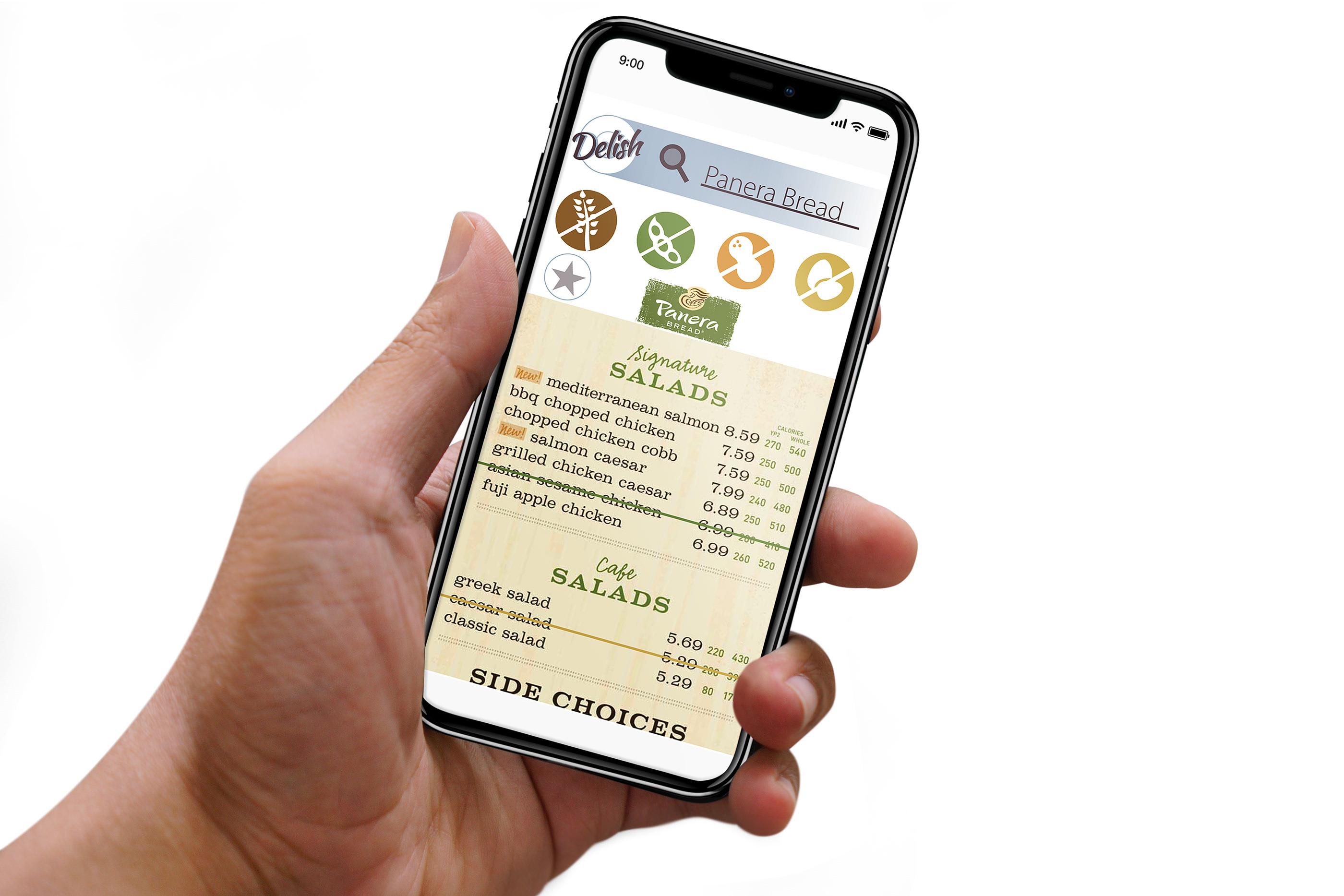 Delish Food App on Behance