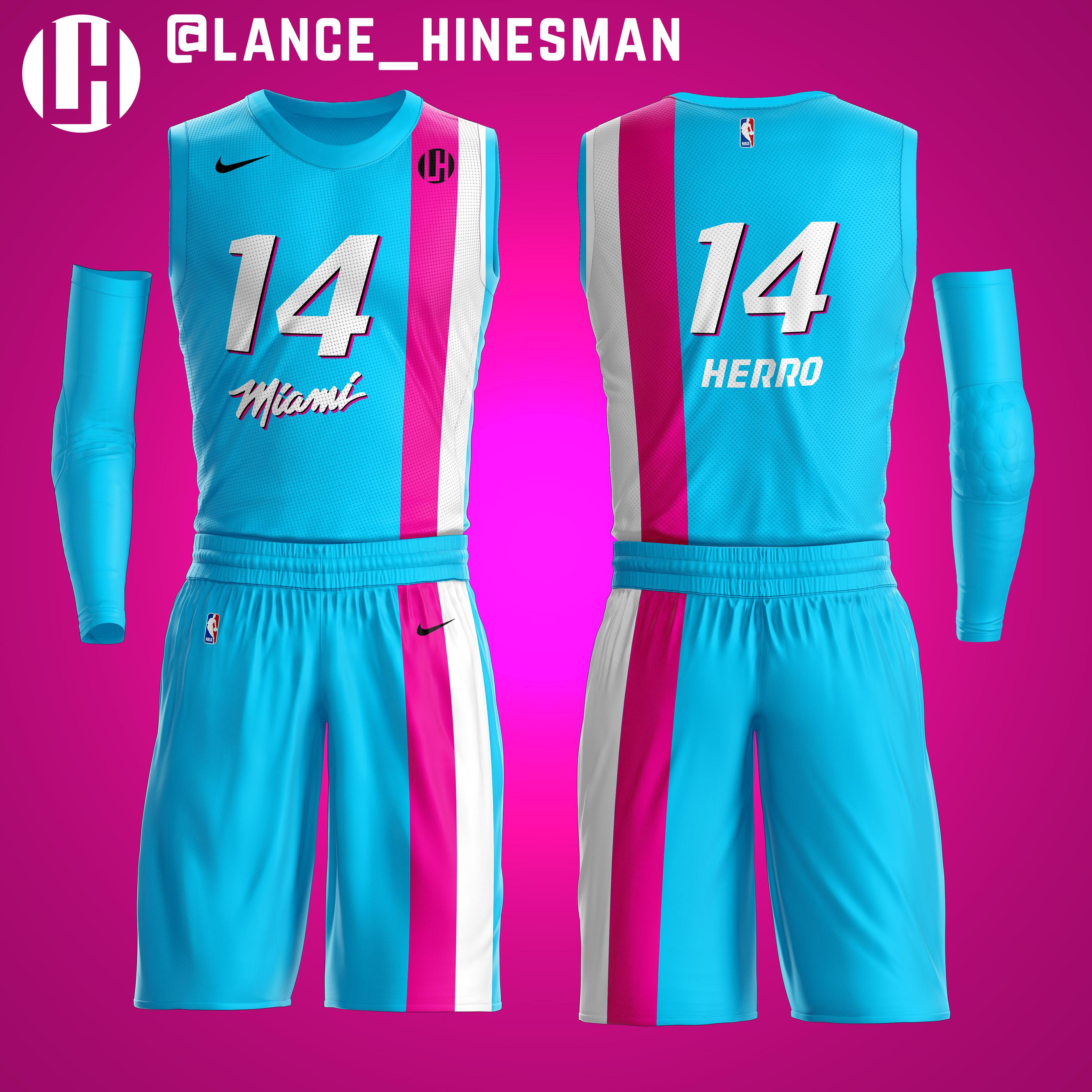Miami Heat Vice Floridians Jersey Concept On Behance