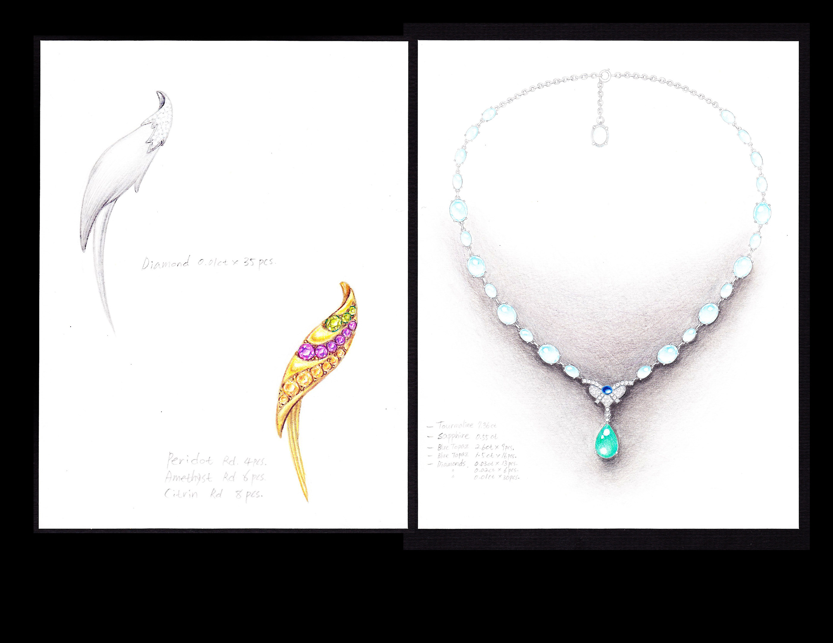 Jewelry Design Portfolio On Behance