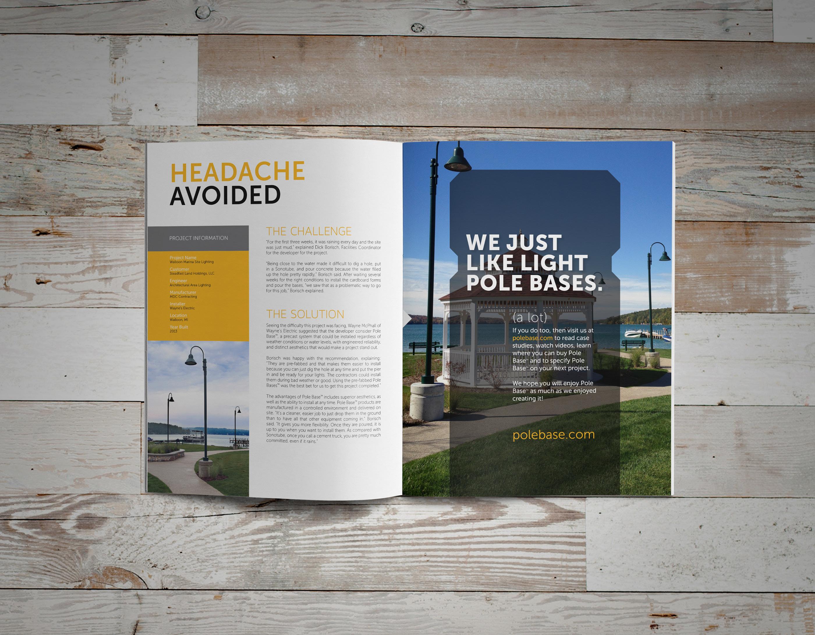 Pole Base - Branding on Behance