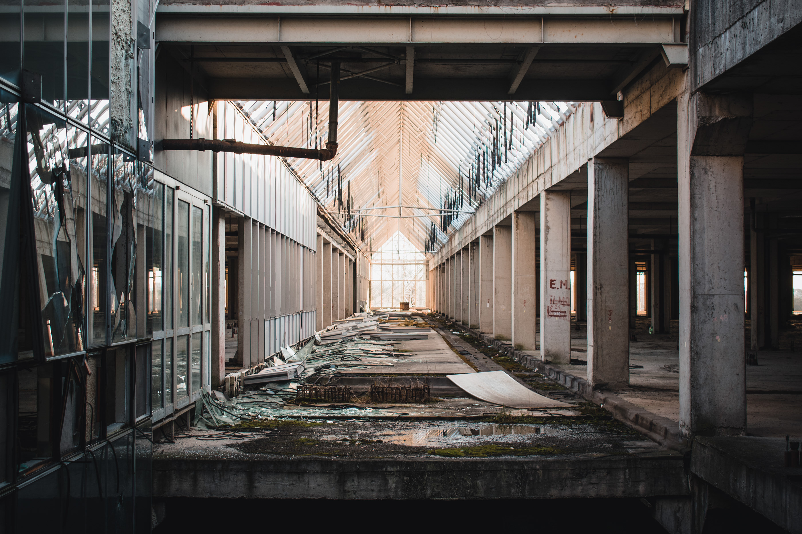 Abandoned Croatia University Hospital In Zagreb On Behance