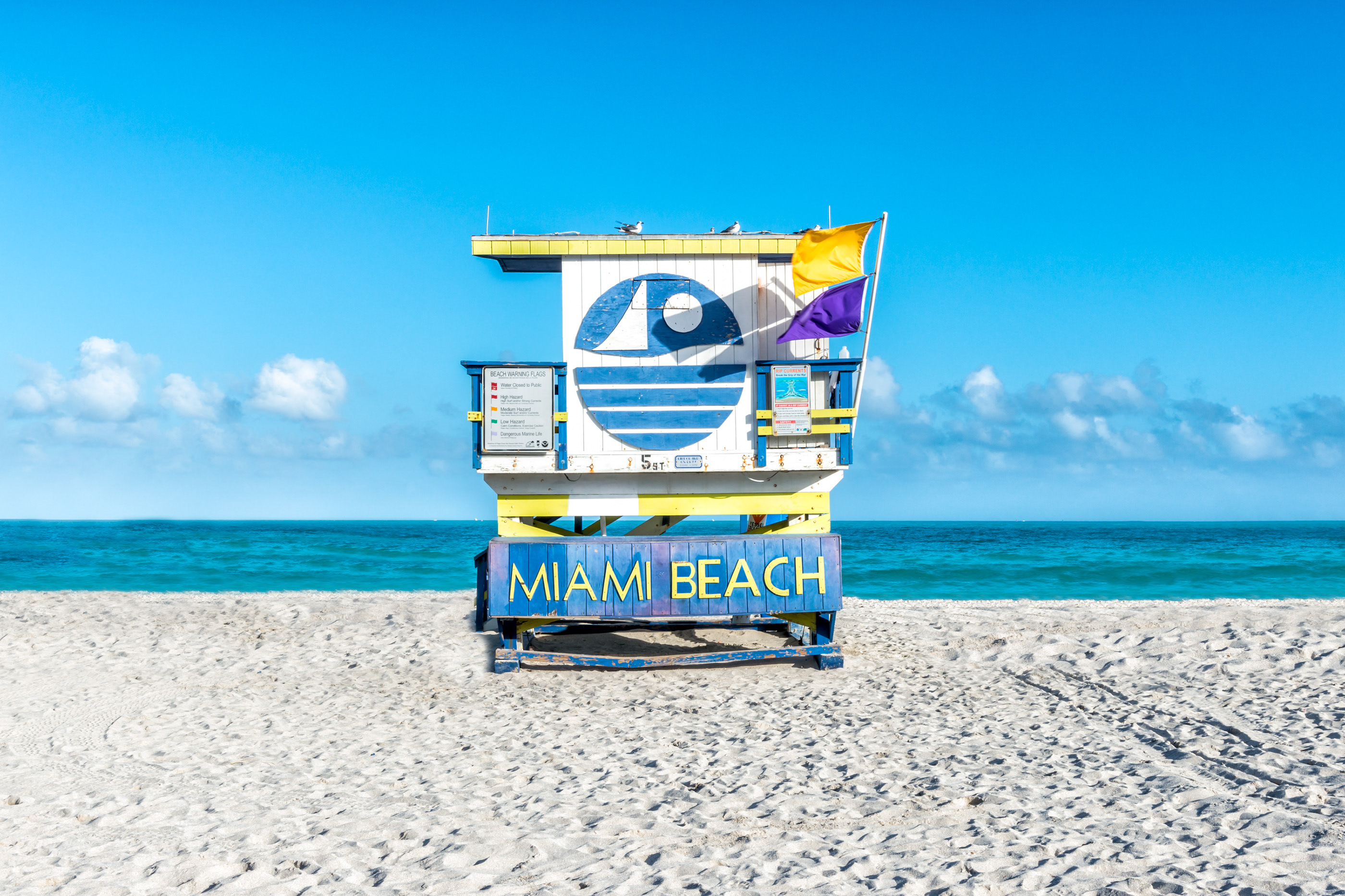 Lifeguard Chairs of South Beach, Miami on Behance