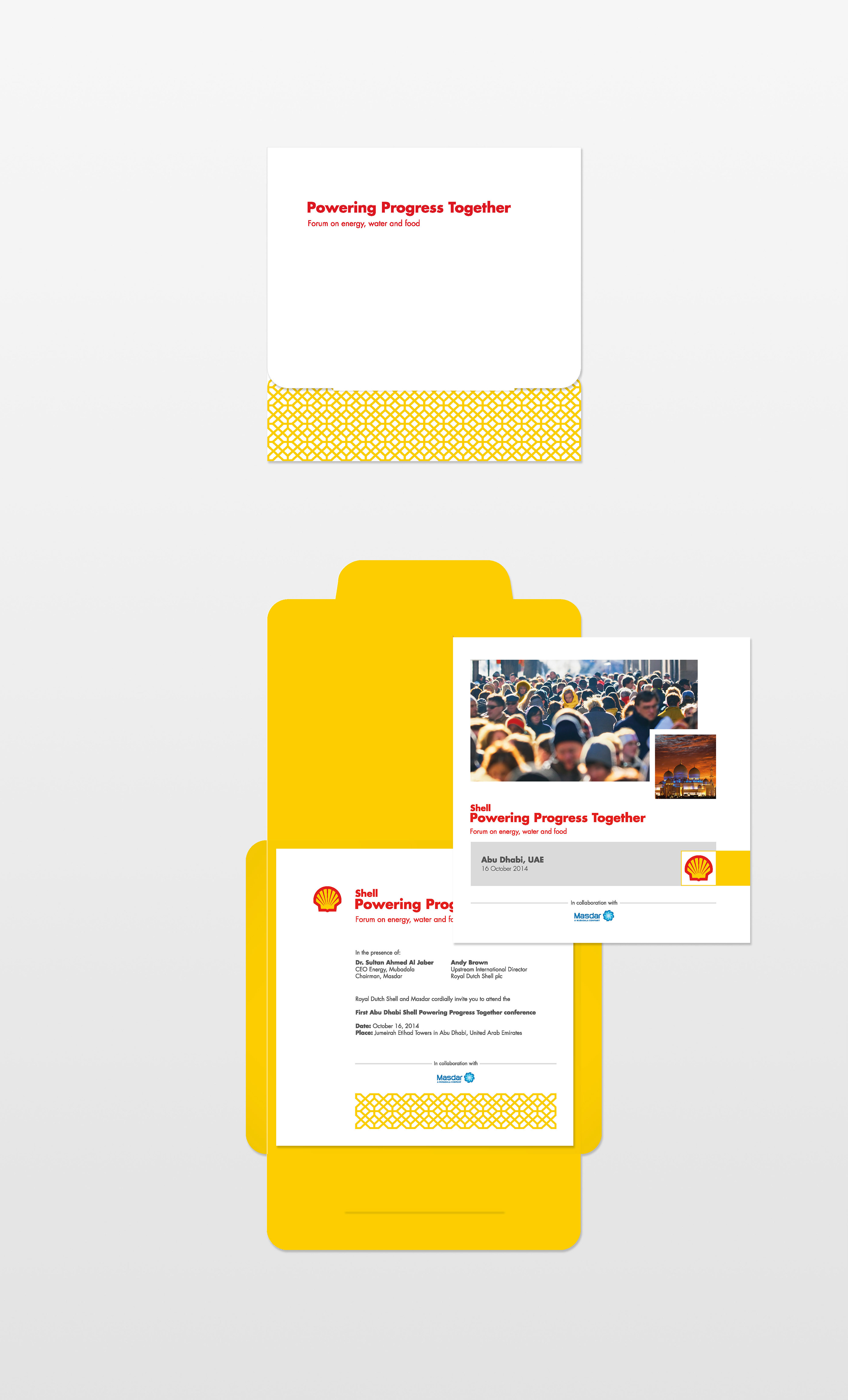 Shell Powering Progress Together - 2014 on Behance