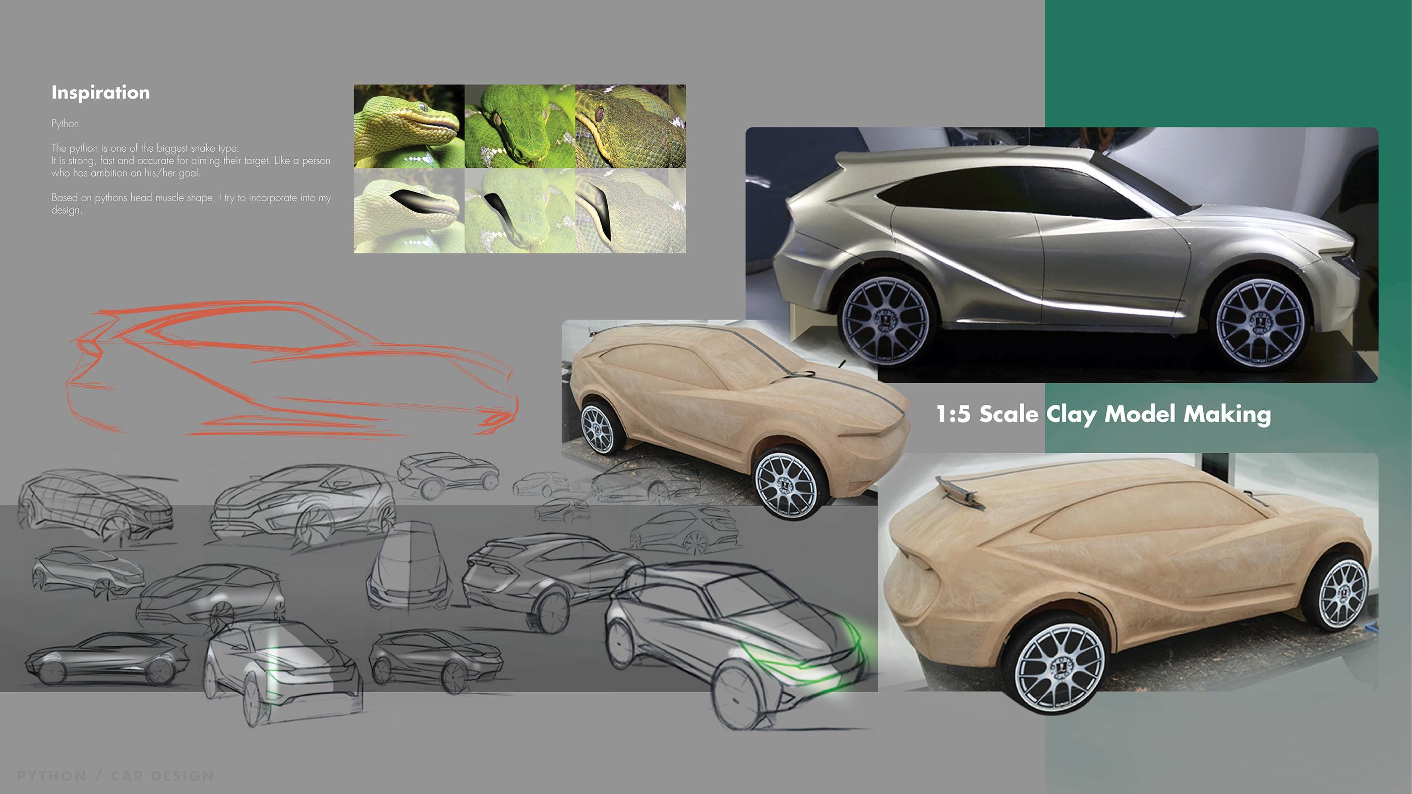Python, Luxury Crossover Car Design on Behance