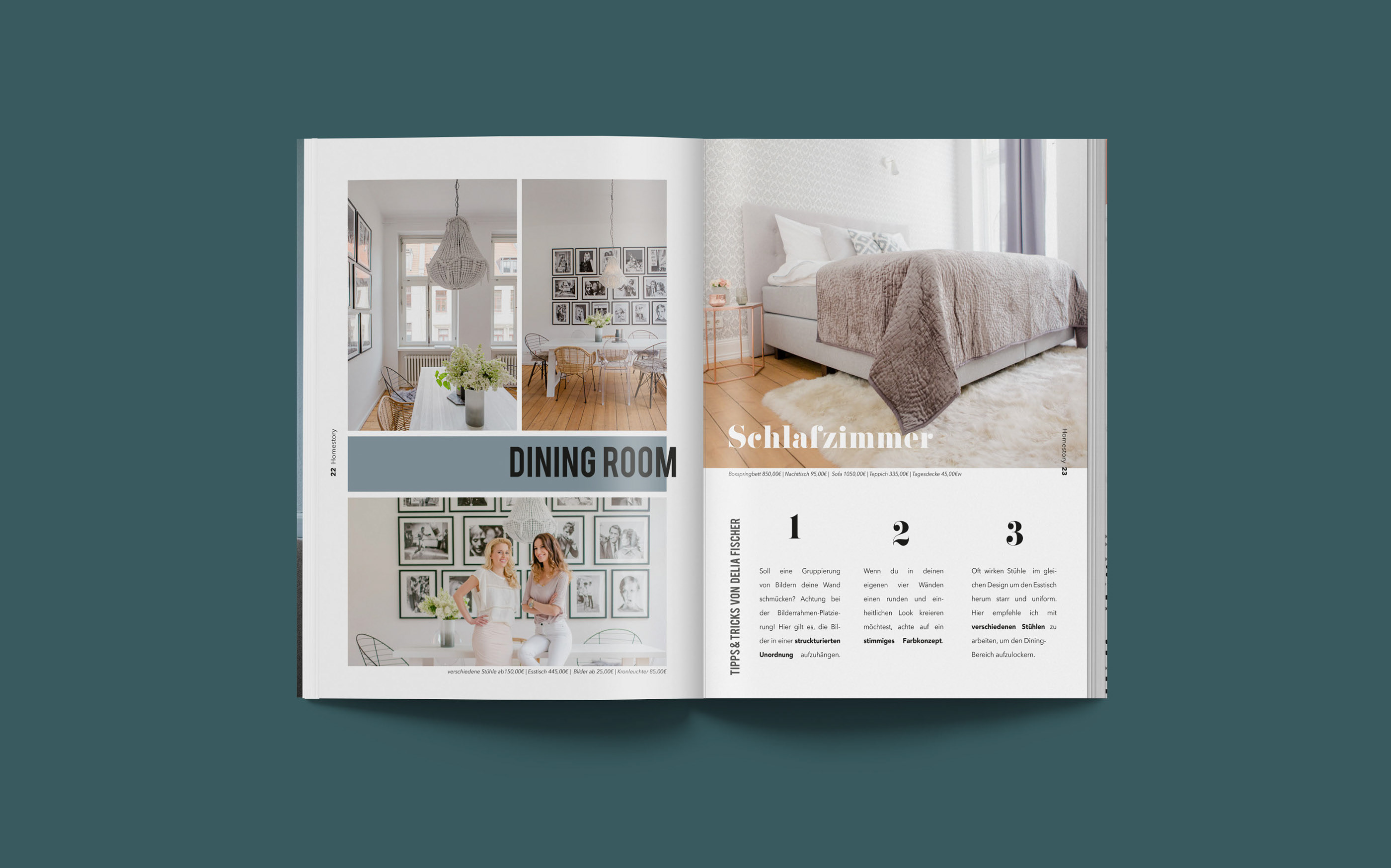 Magazine Interior On Behance