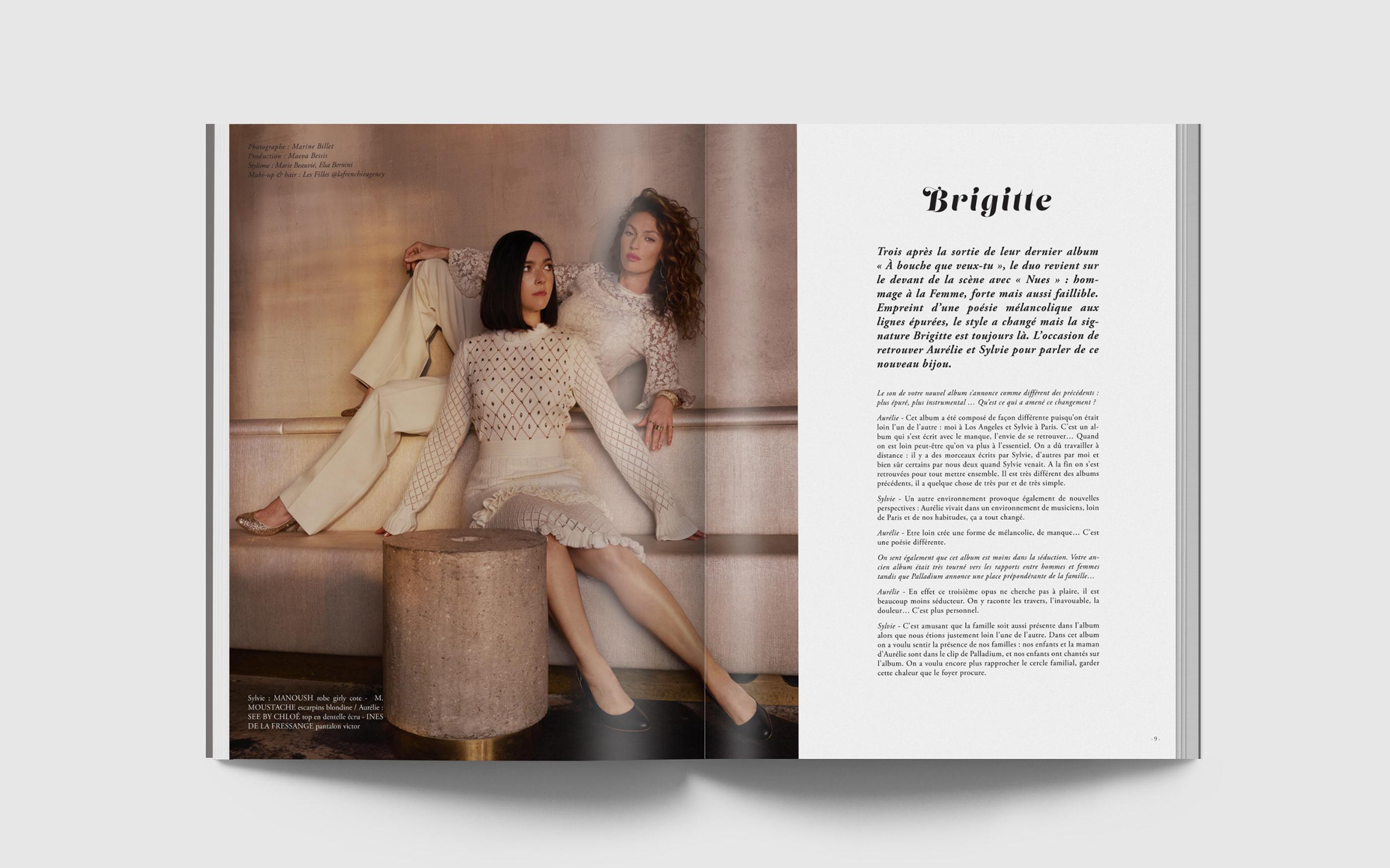 Magazine Mode On N°8 L'exception • Print Behance Yb6gf7yv