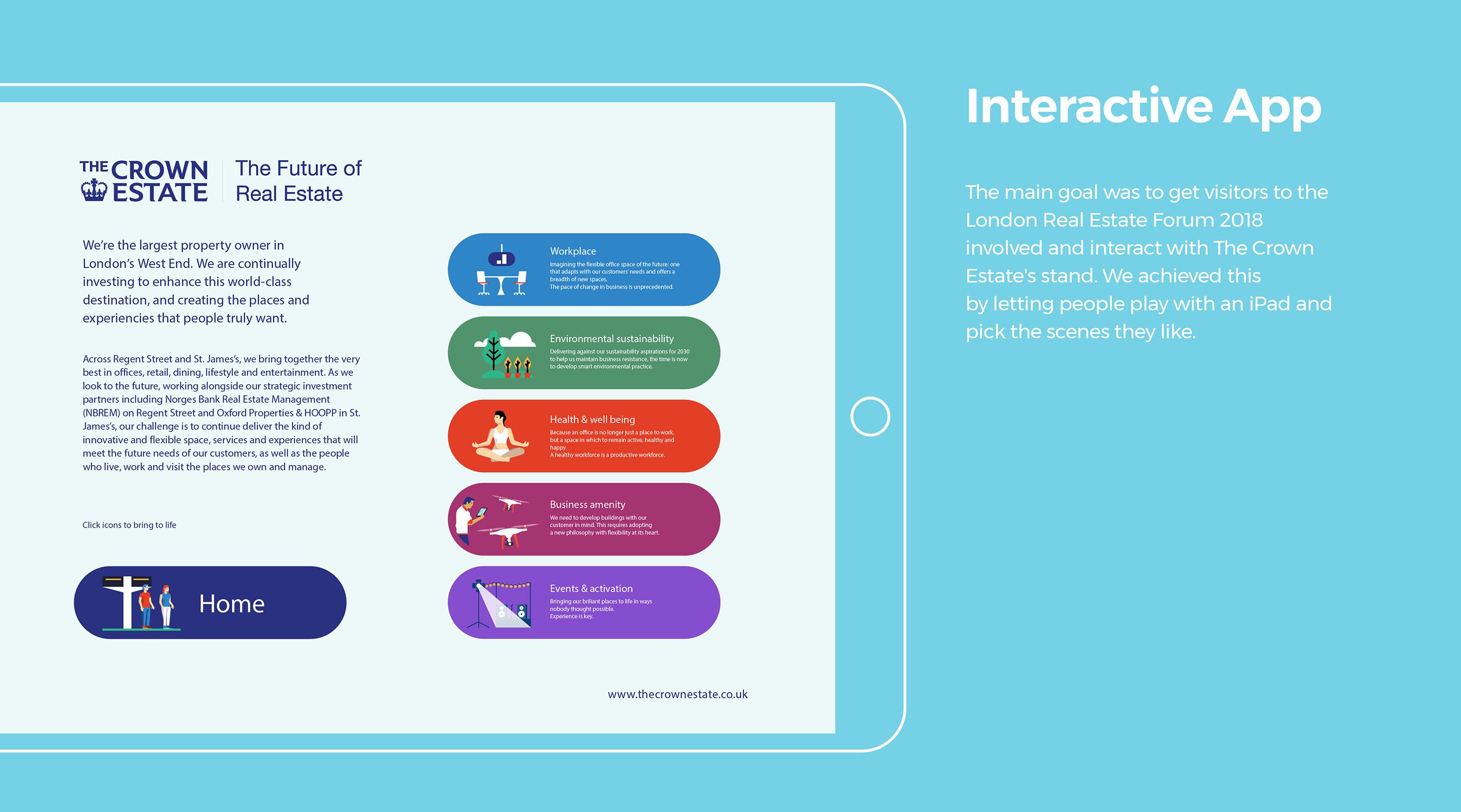London 2030 - Interactive mural on Behance