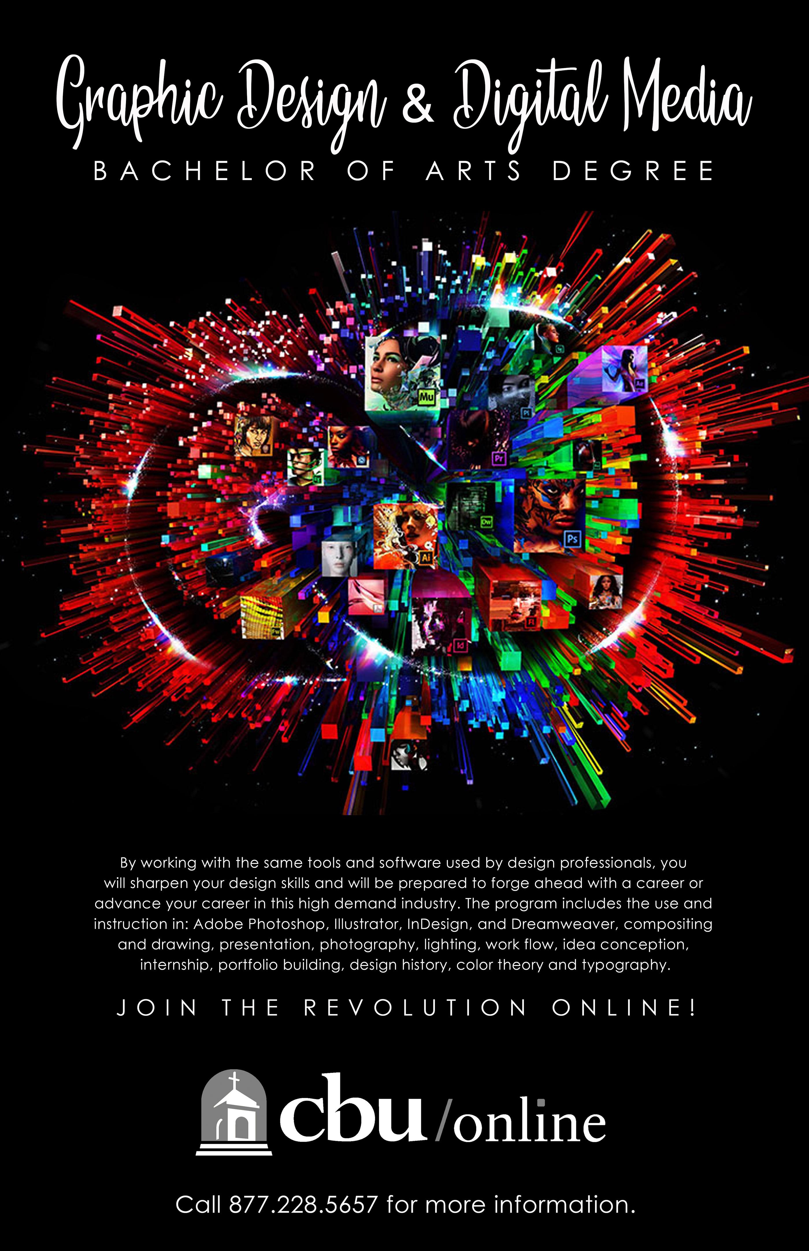 Cbu Graphic Design Poster On Behance