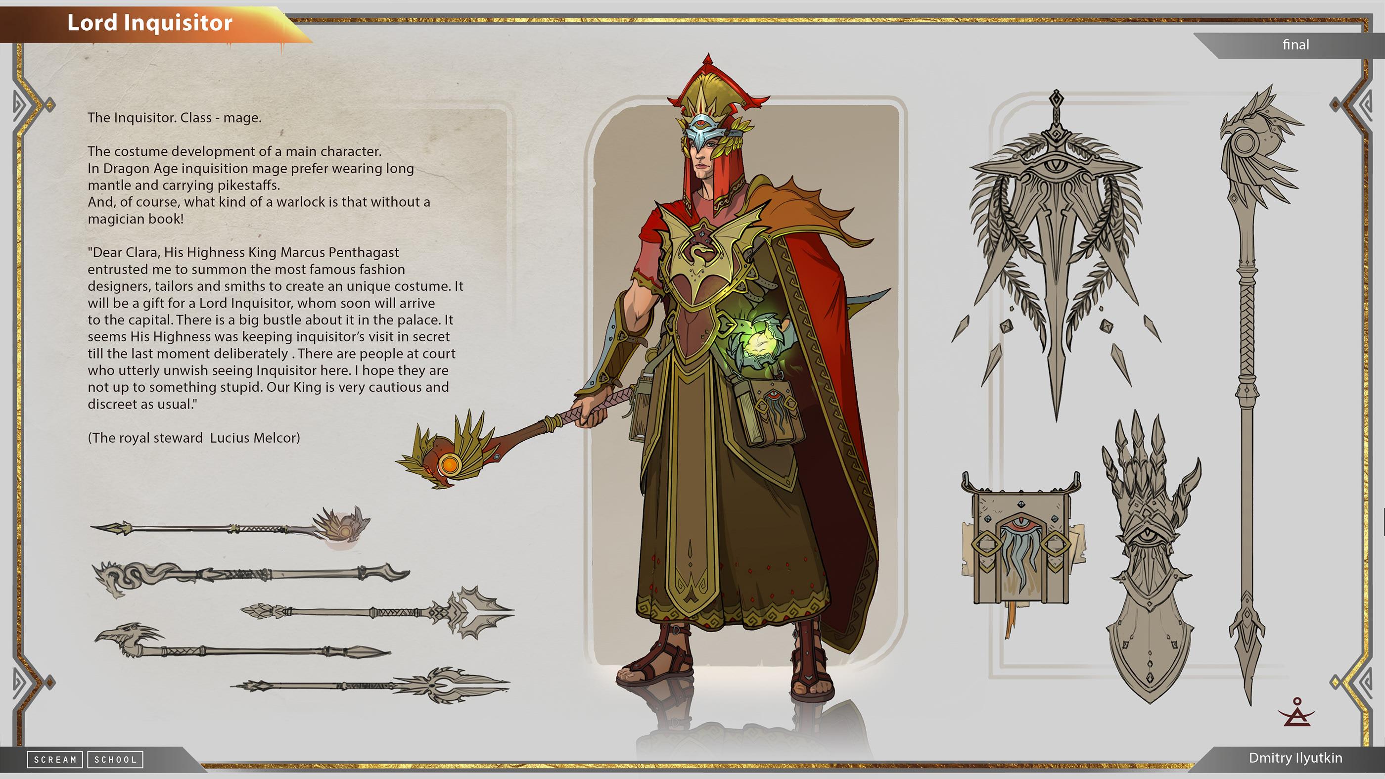 Dragon Age Inquisition Art Book